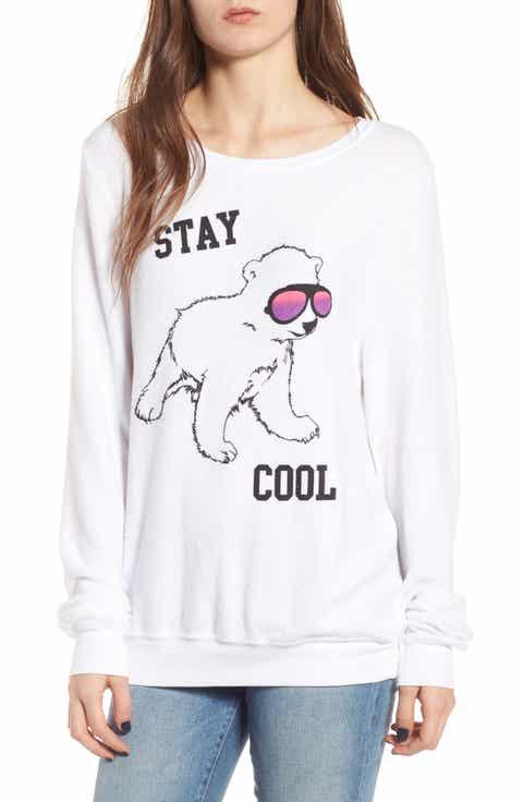 Dream Scene Stay Cool Polar Bear Sweatshirt