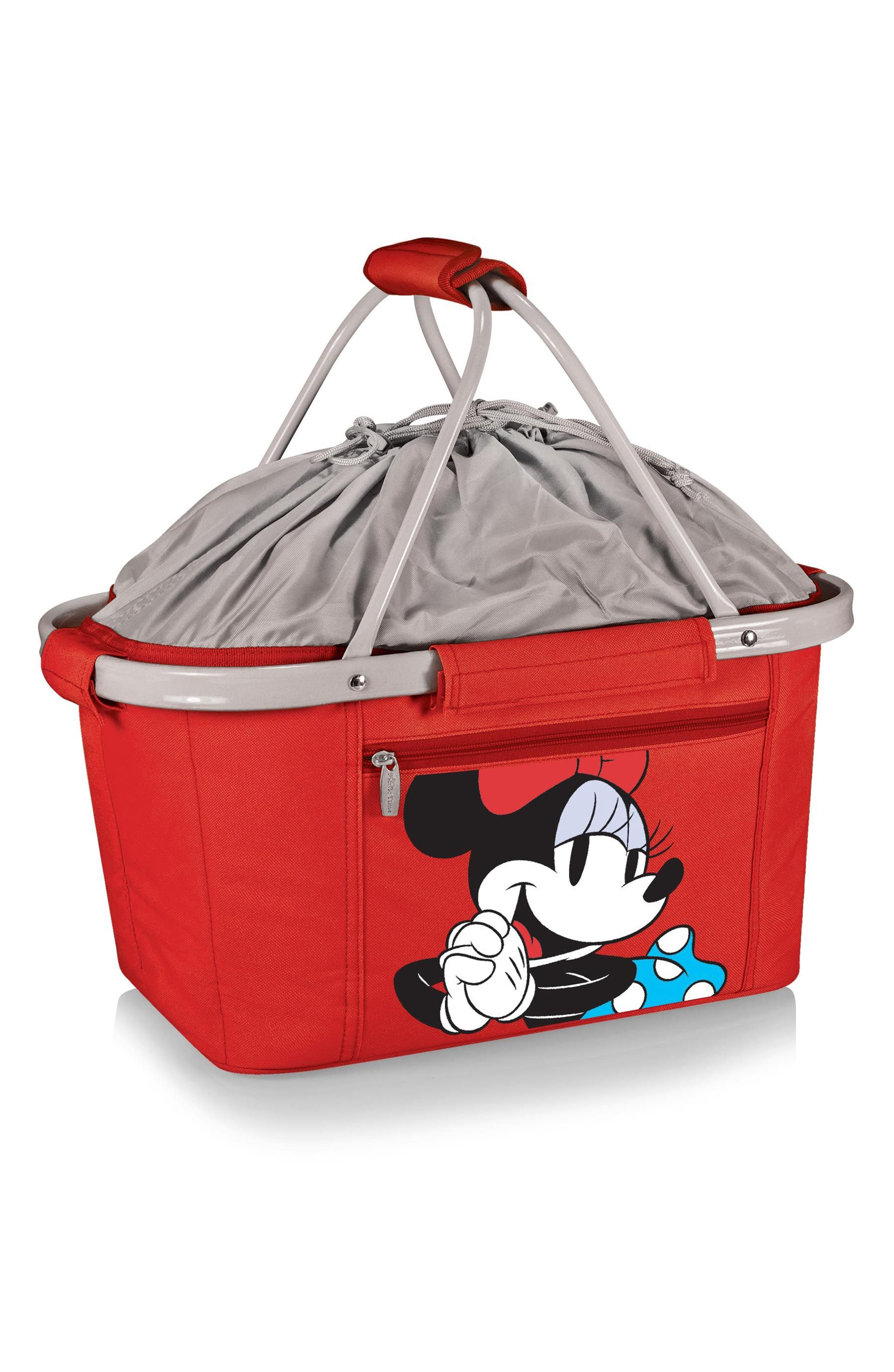 Metro - Disney Collapsible Insulated Basket,                         Main,                         color, Minnie