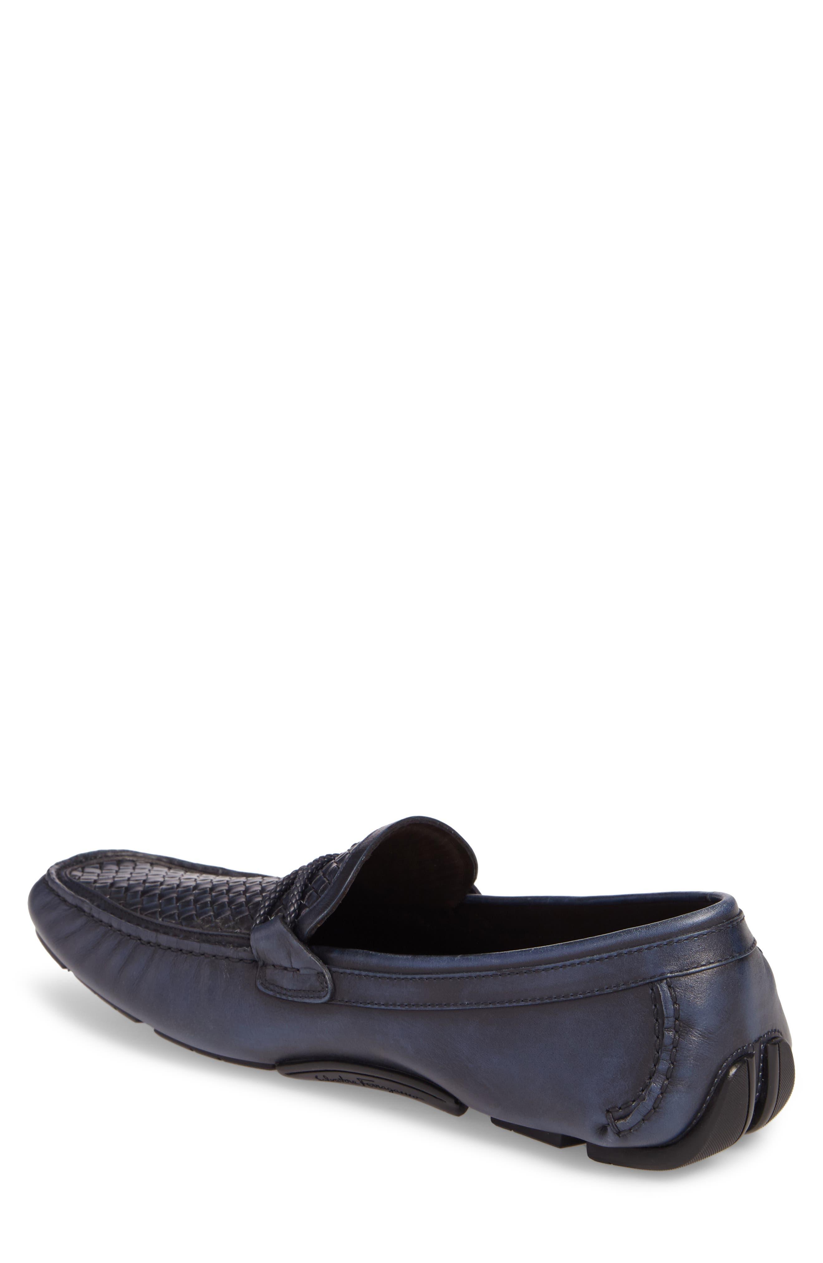 Front Driving Shoe,                             Alternate thumbnail 2, color,                             Sunset Blue/ Navy
