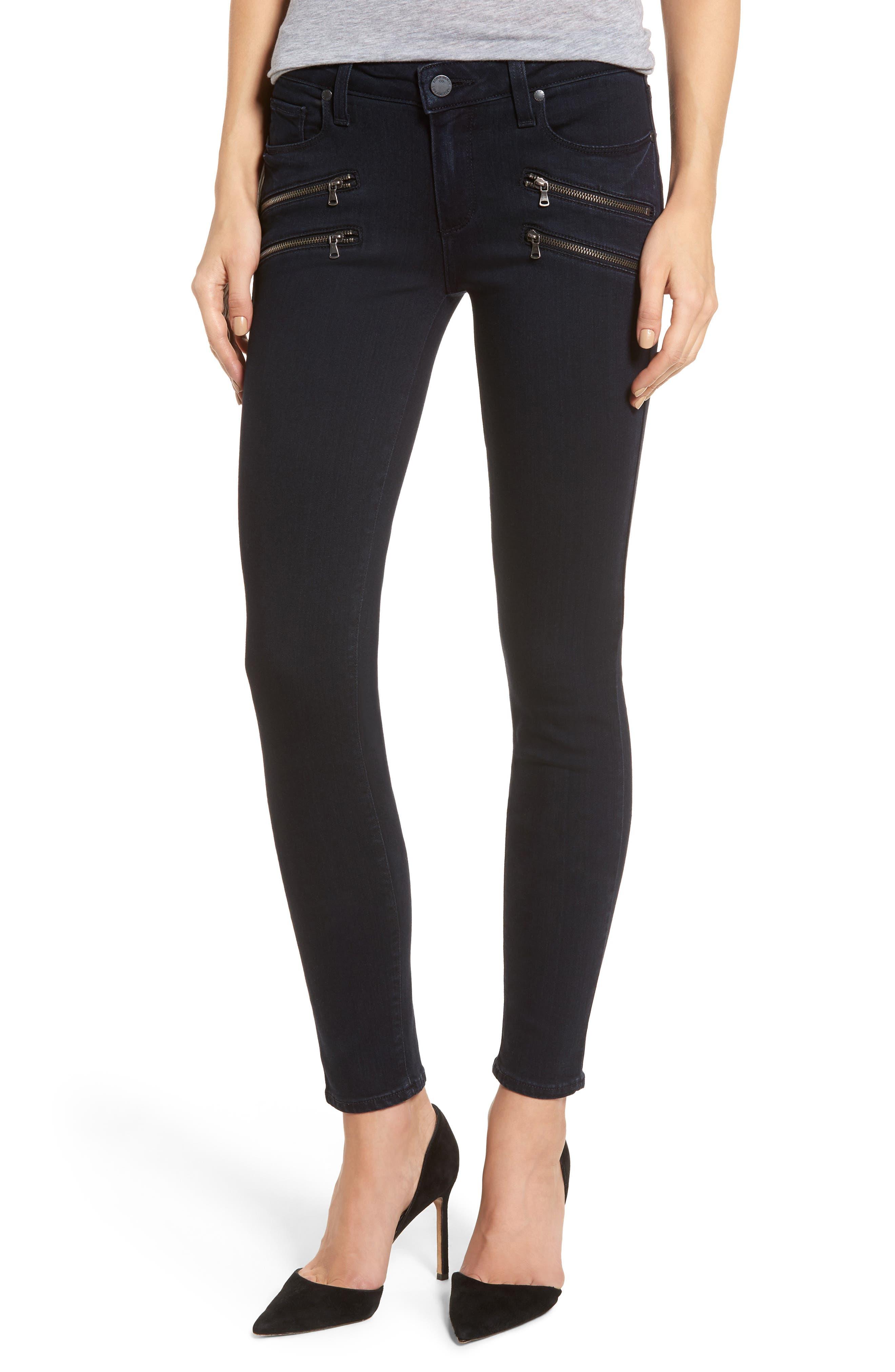 Alternate Image 1 Selected - PAIGE Transcend - Edgemont Ultra Skinny Jeans (Cherie)
