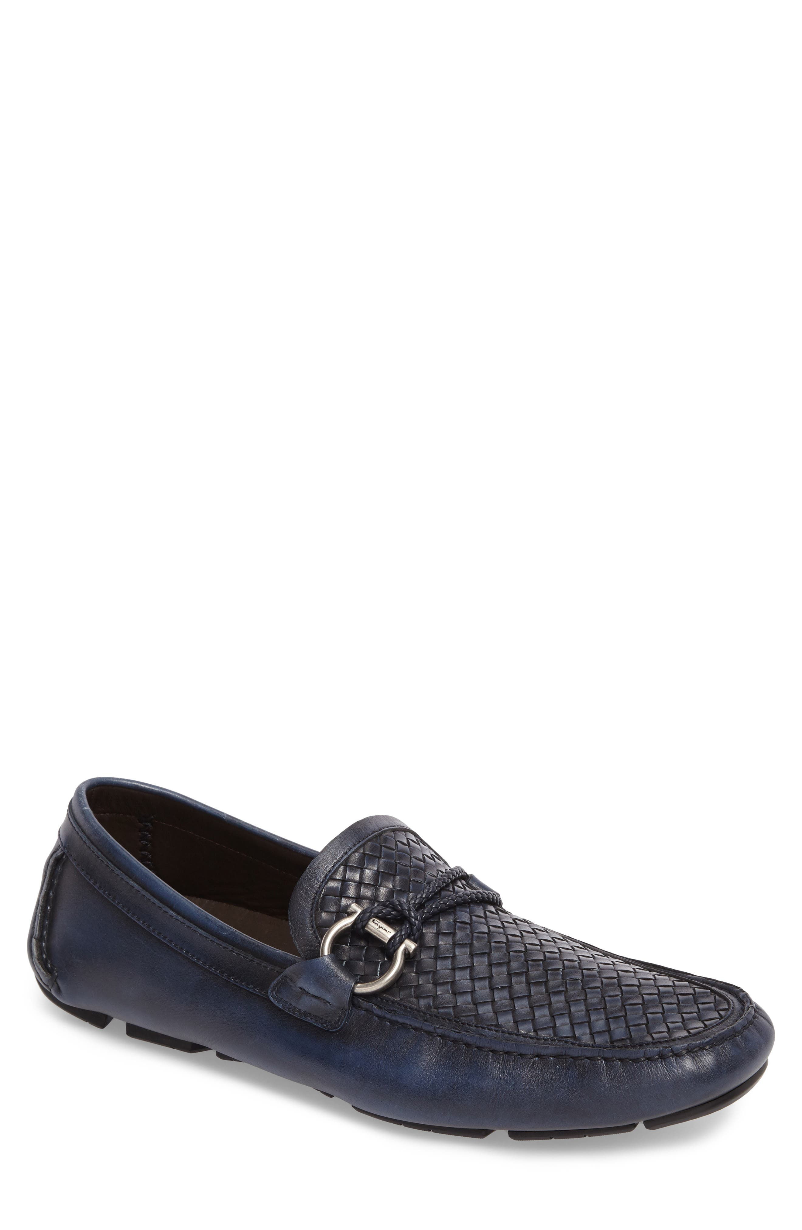 Front Driving Shoe,                         Main,                         color, Sunset Blue/ Navy