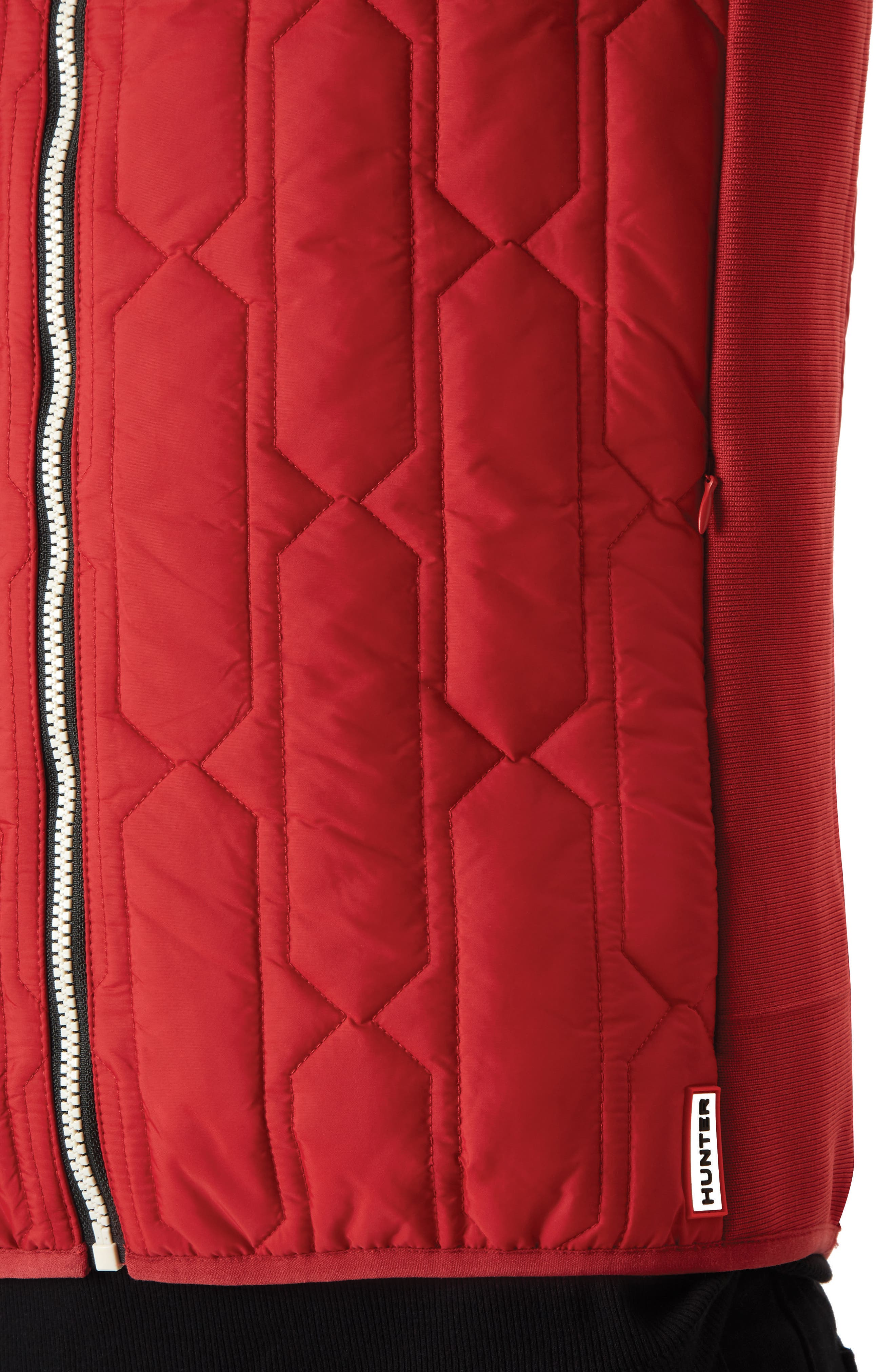 Original Midlayer Gilet,                             Alternate thumbnail 3, color,                             Military Red