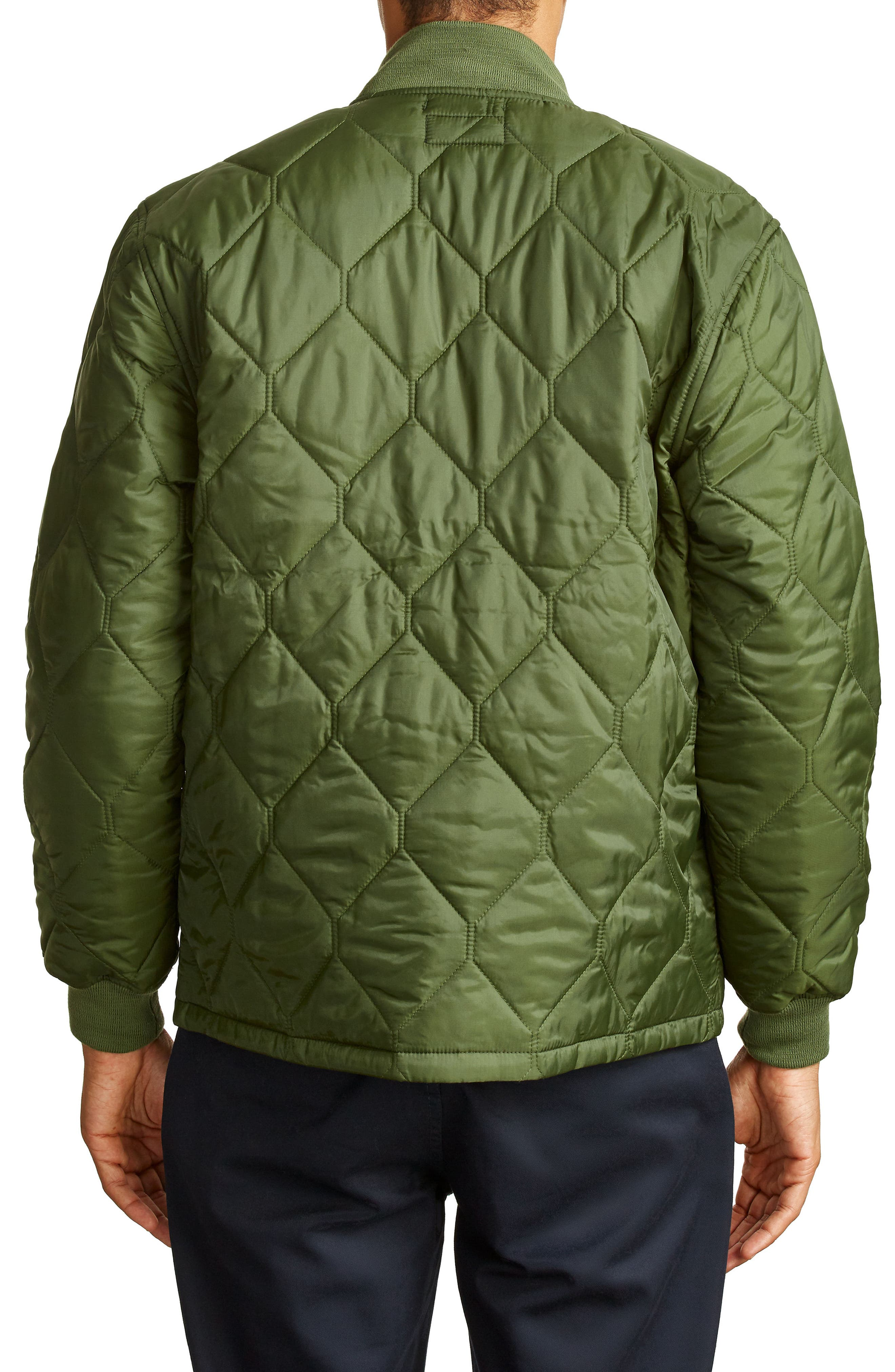 Alternate Image 2  - Brixton Crawford Quilted Jacket