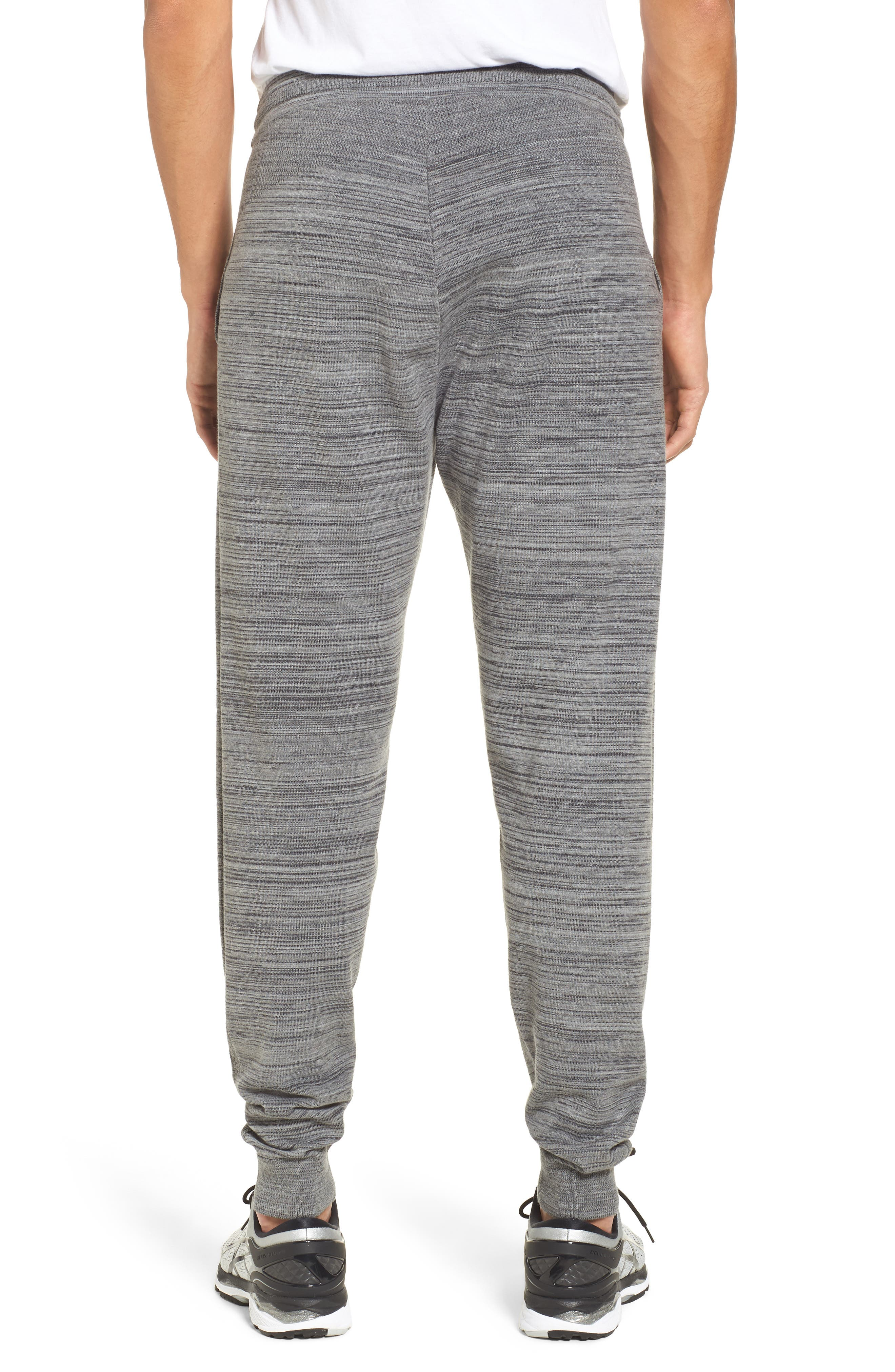 Tech Sweater Knit Jogger Pants,                             Alternate thumbnail 2, color,                             Grey Obsidian Spacedye