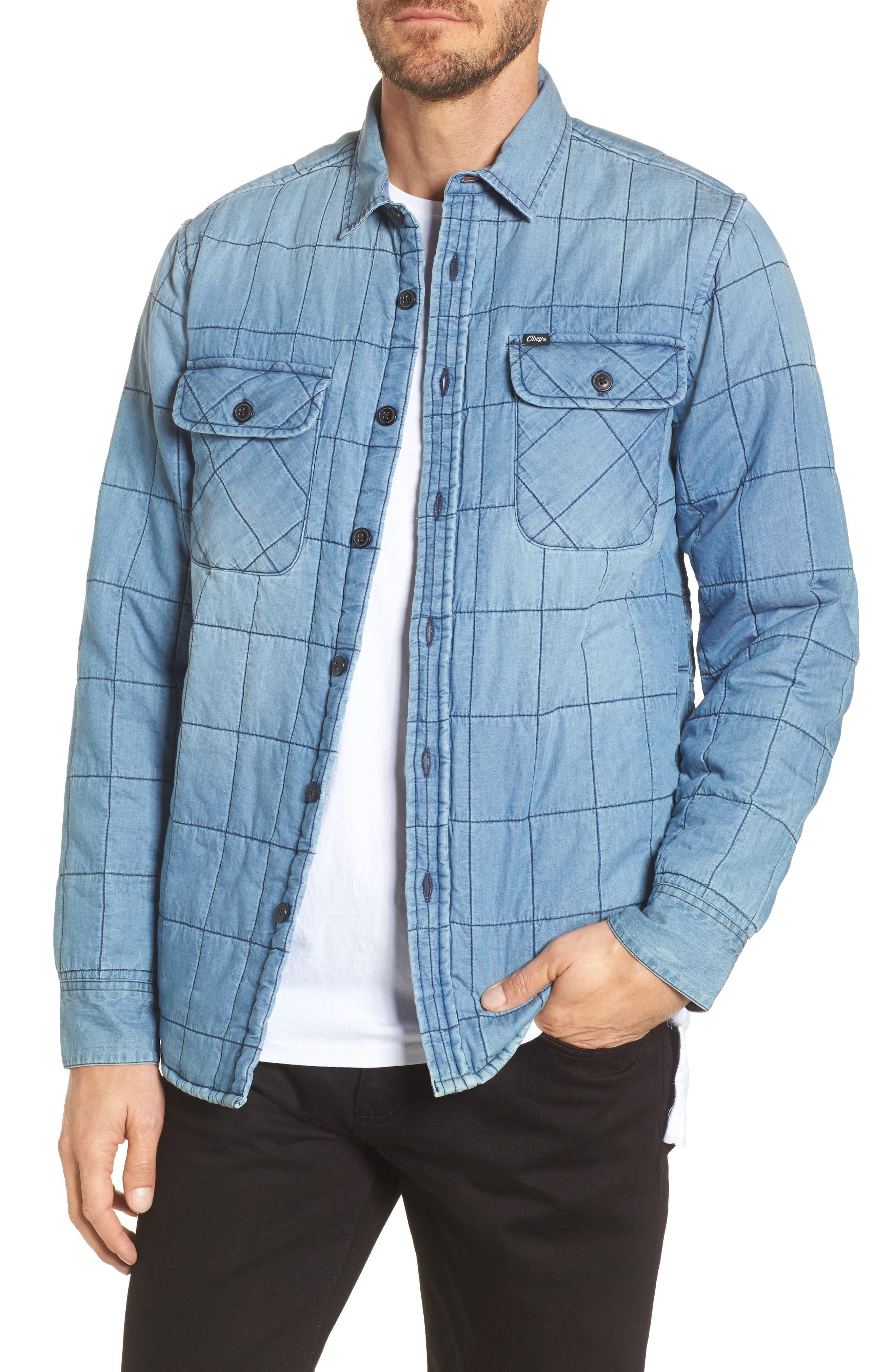 Wrecker Jacket,                         Main,                         color, Vintage Indigo