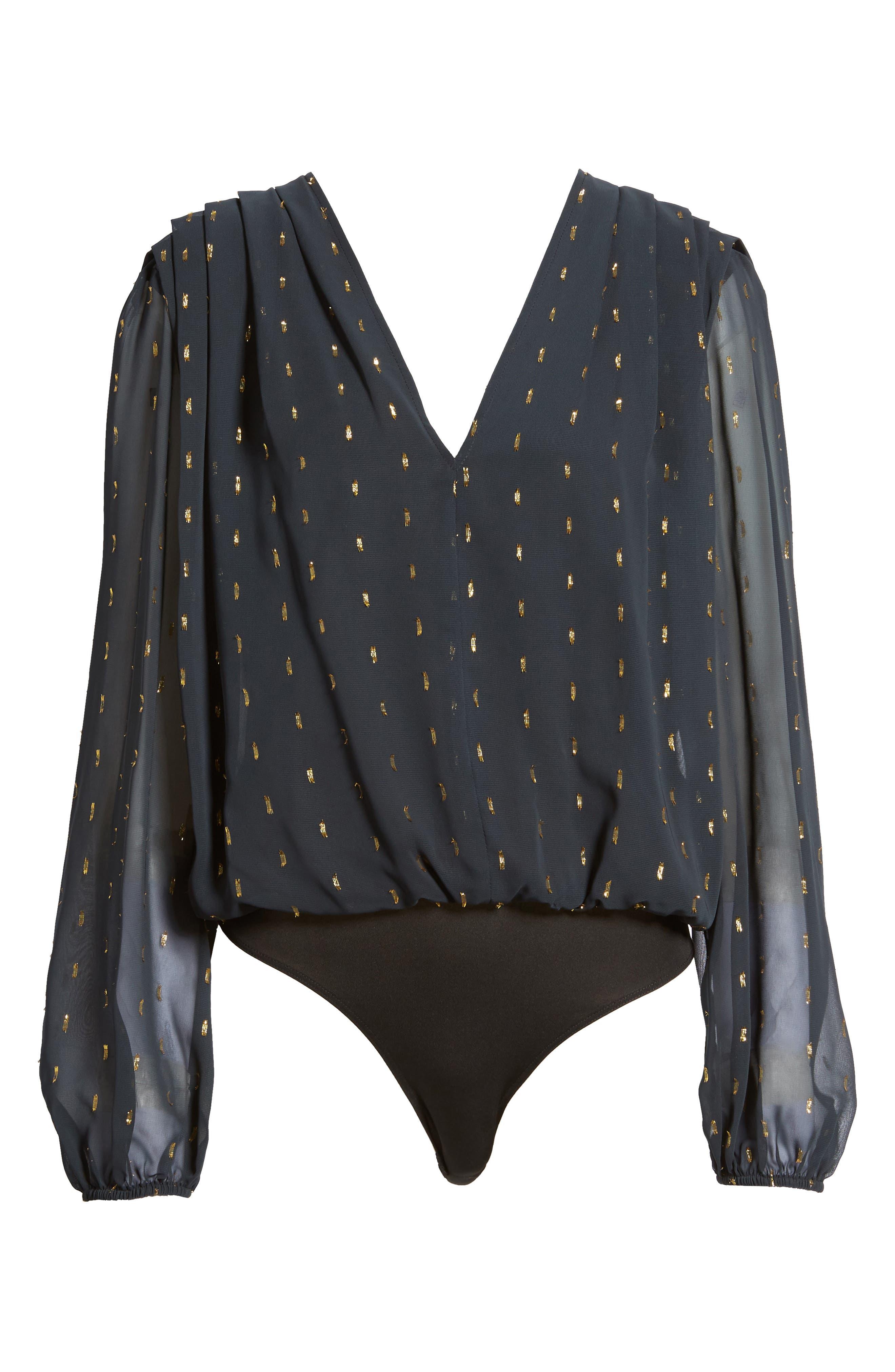 Alternate Image 6  - Leith Bloused Bodysuit