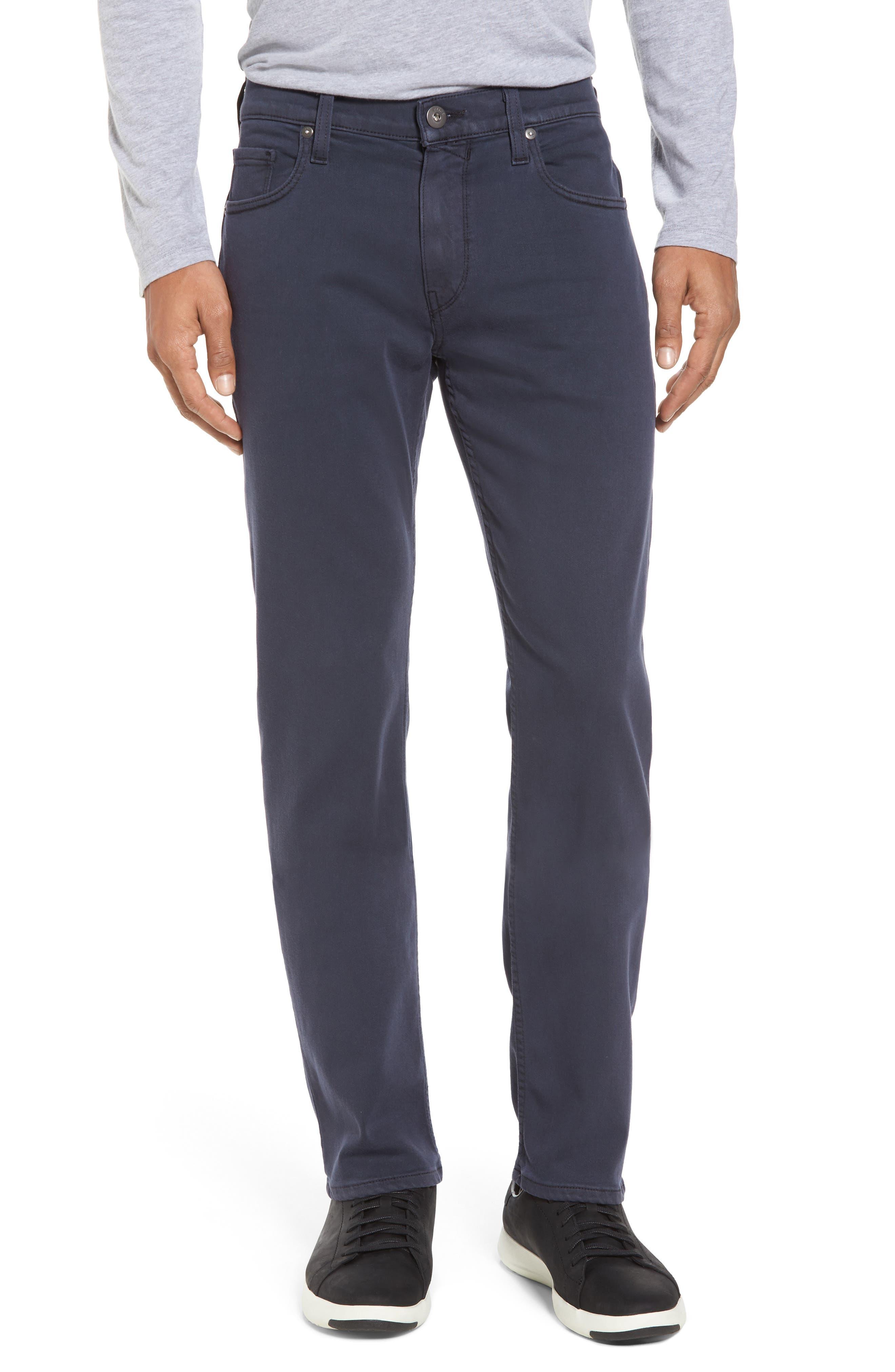 Main Image - PAIGE Transcend - Federal Slim Straight Leg Jeans (Vintage Deep Sea)