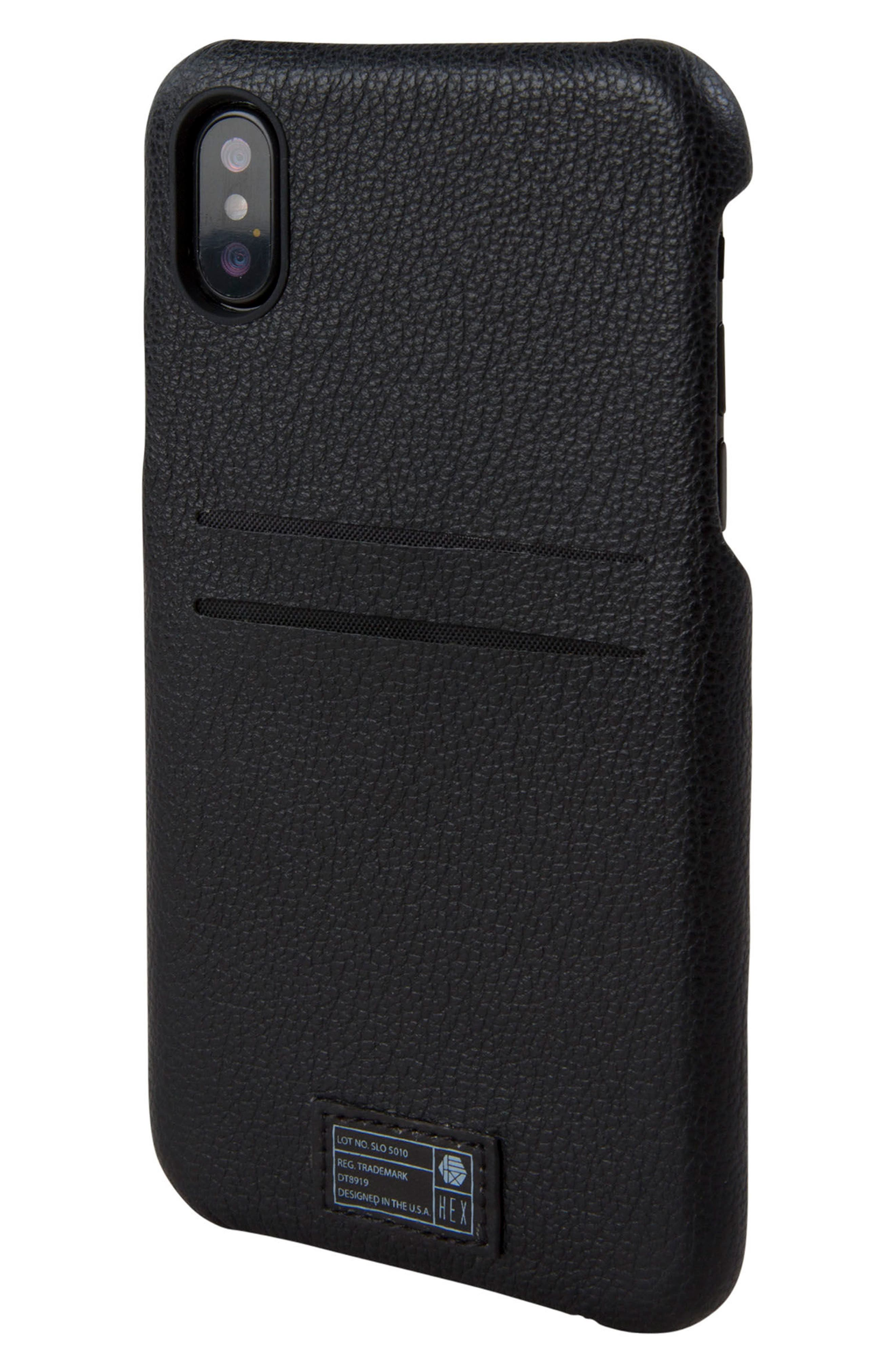 HEX Solo iPhone X Wallet Case