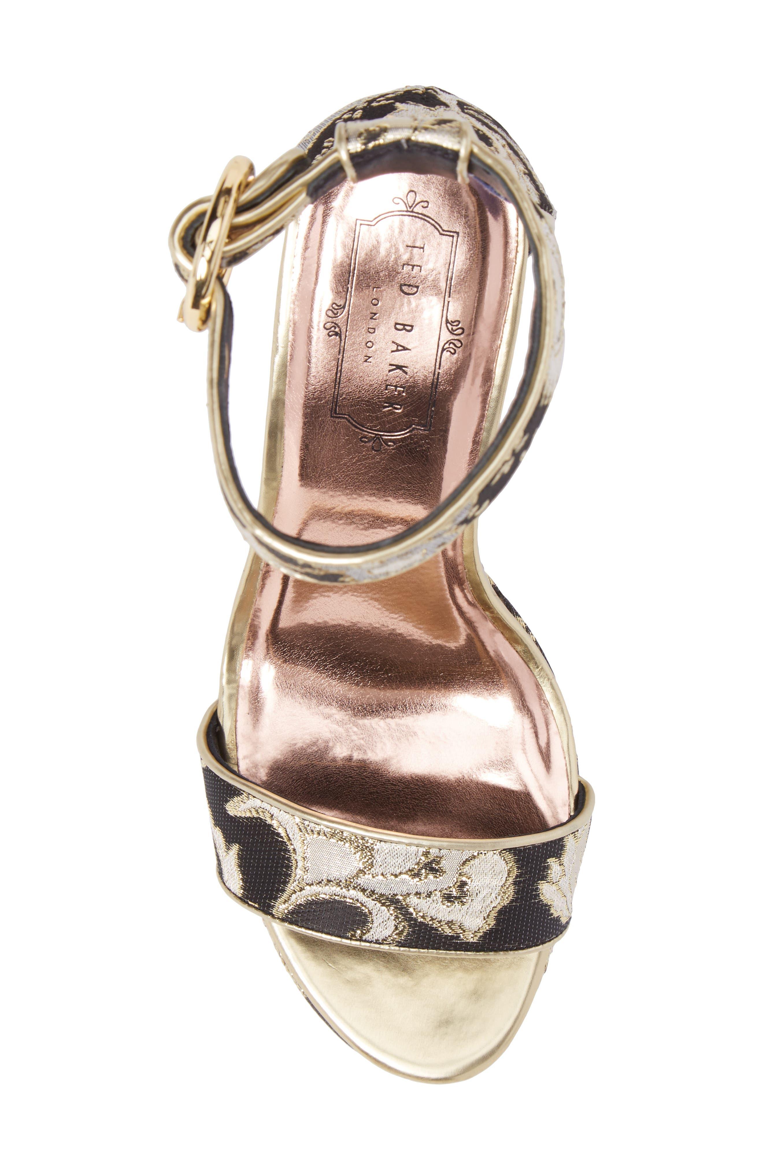 Alternate Image 5  - Ted Baker London Jewll Ankle Strap Sandal (Women)