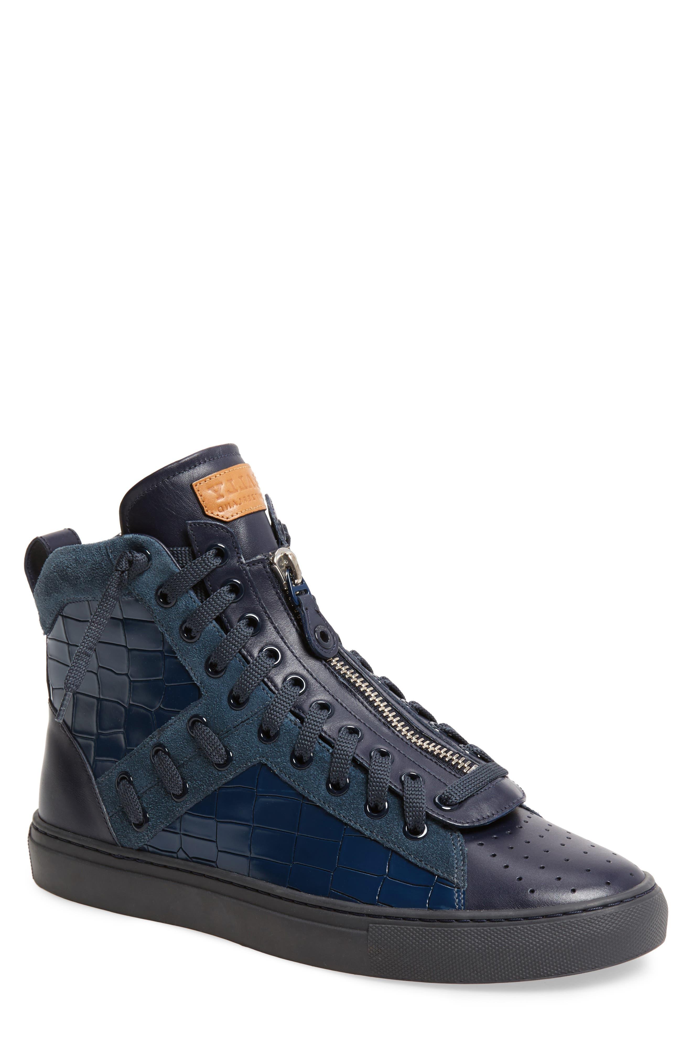 Hekem High-Top Sneaker,                             Main thumbnail 1, color,                             Ocean
