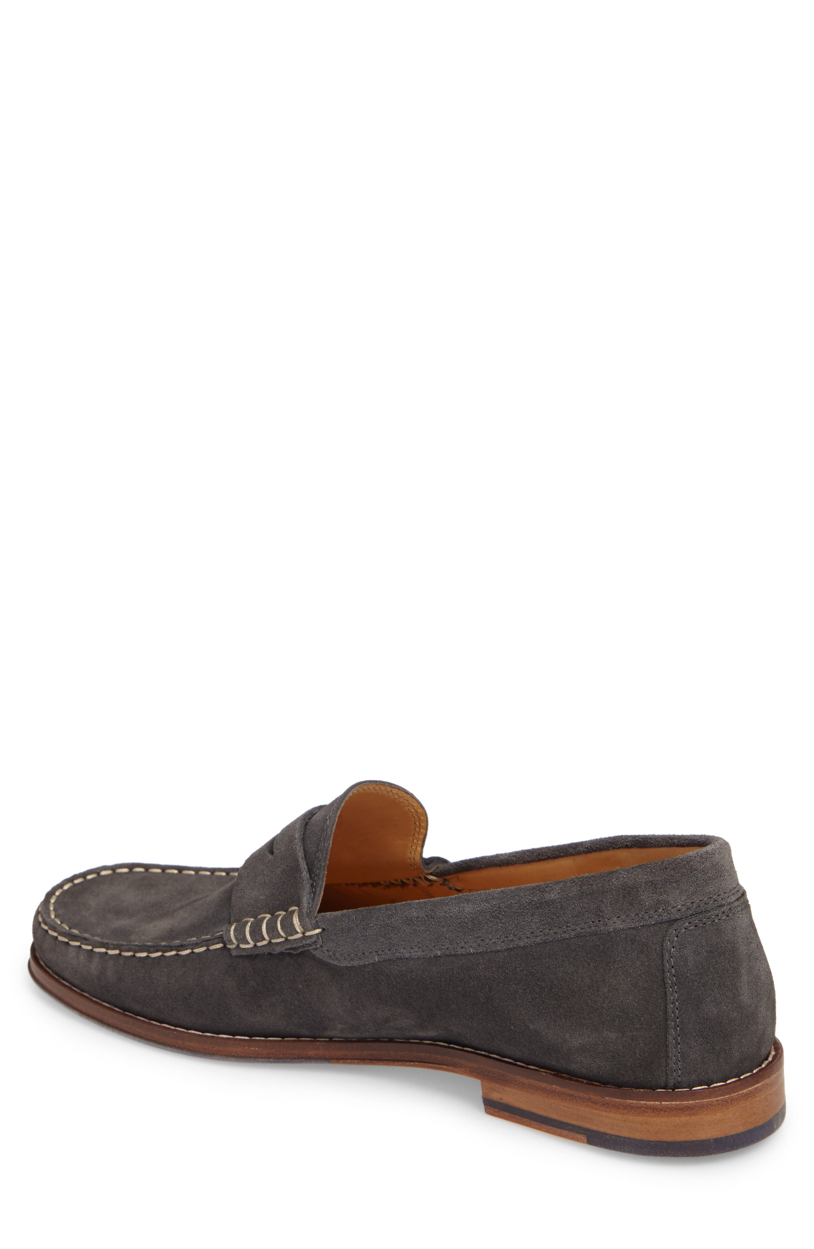 Ripley Penny Loafer,                             Alternate thumbnail 2, color,                             Grey Leather