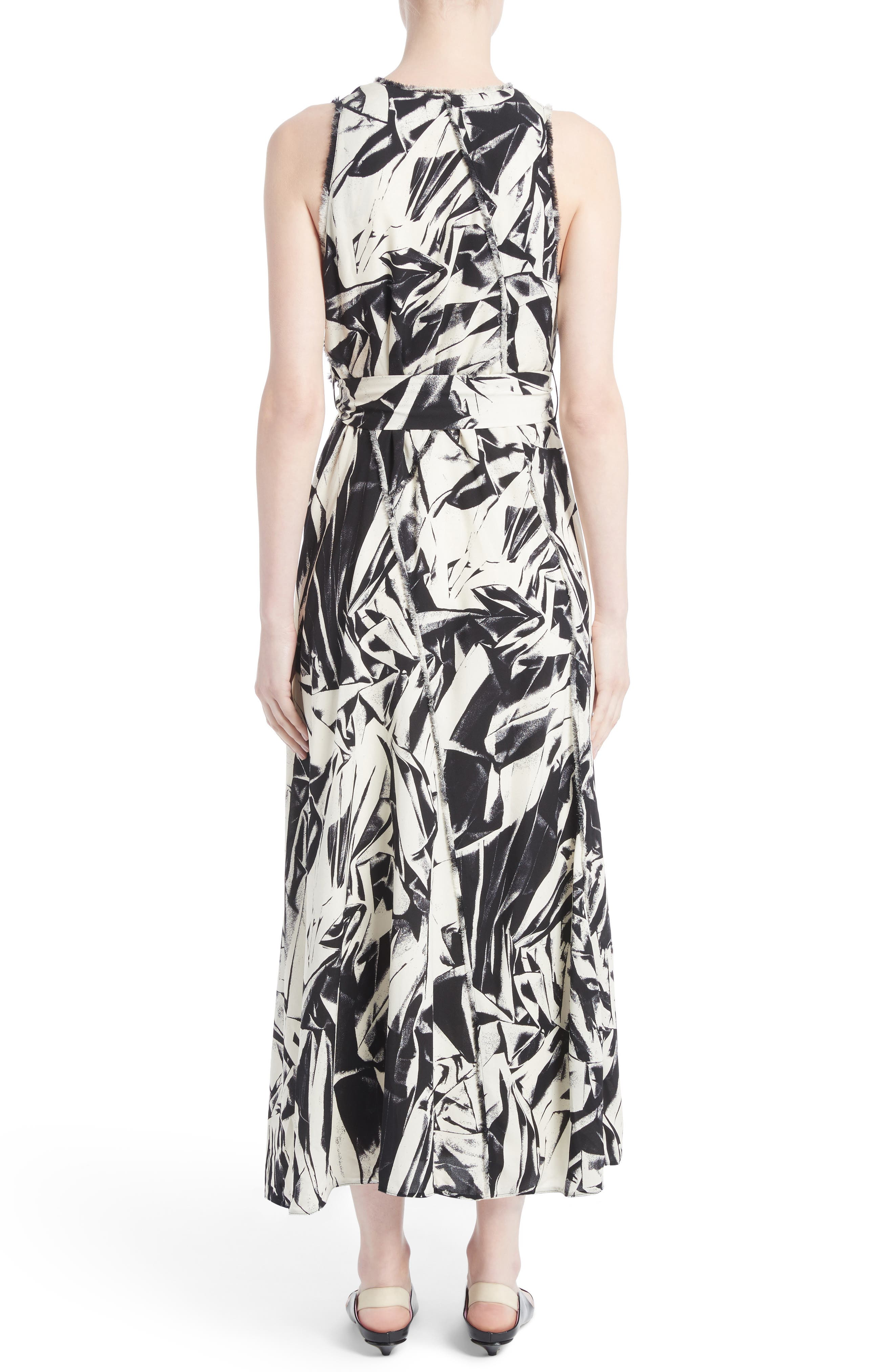 Alternate Image 2  - Proenza Schouler Print Silk Georgette Maxi Dress