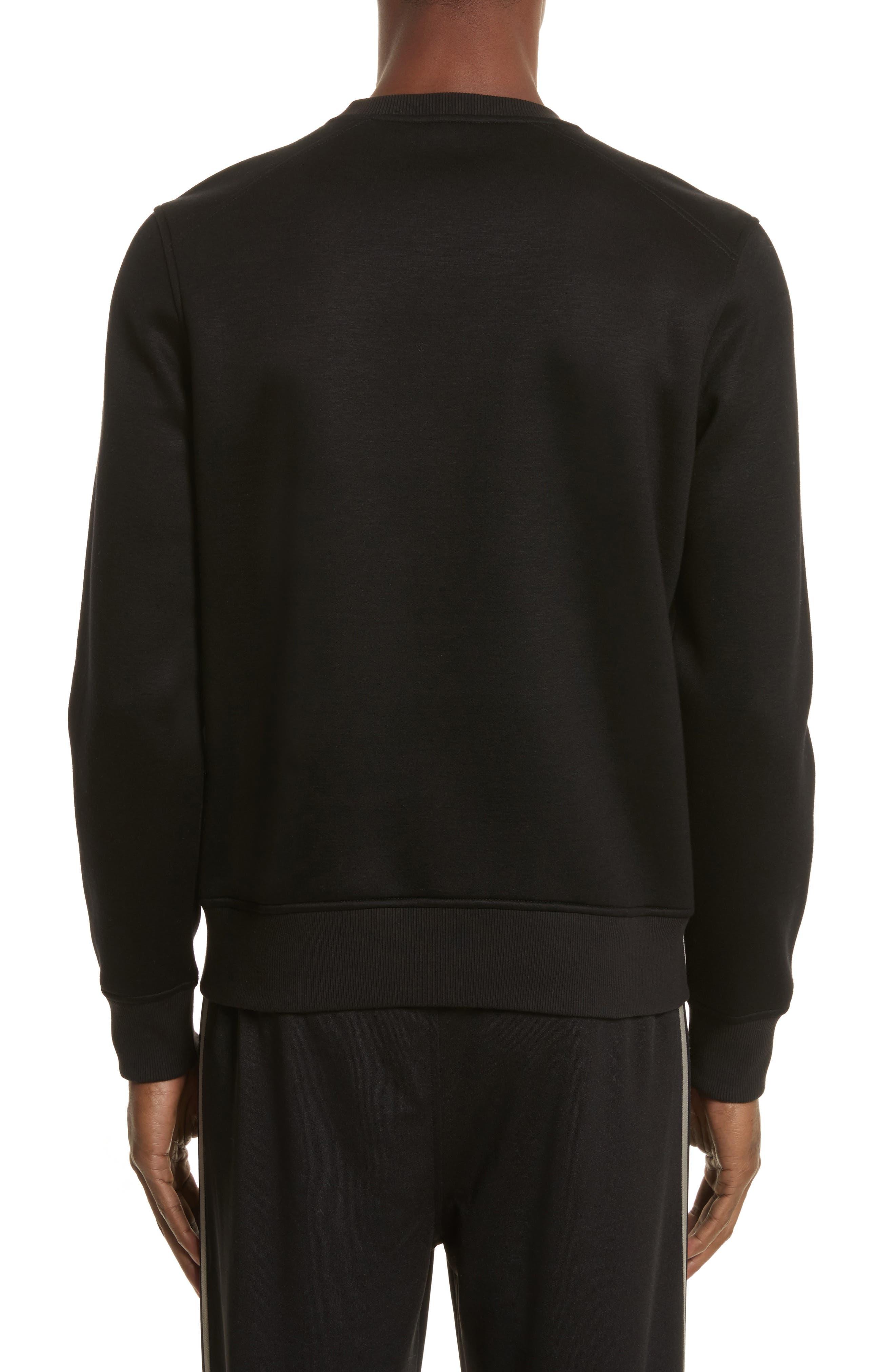 Belsford Crewneck Sweatshirt,                             Alternate thumbnail 2, color,                             Black