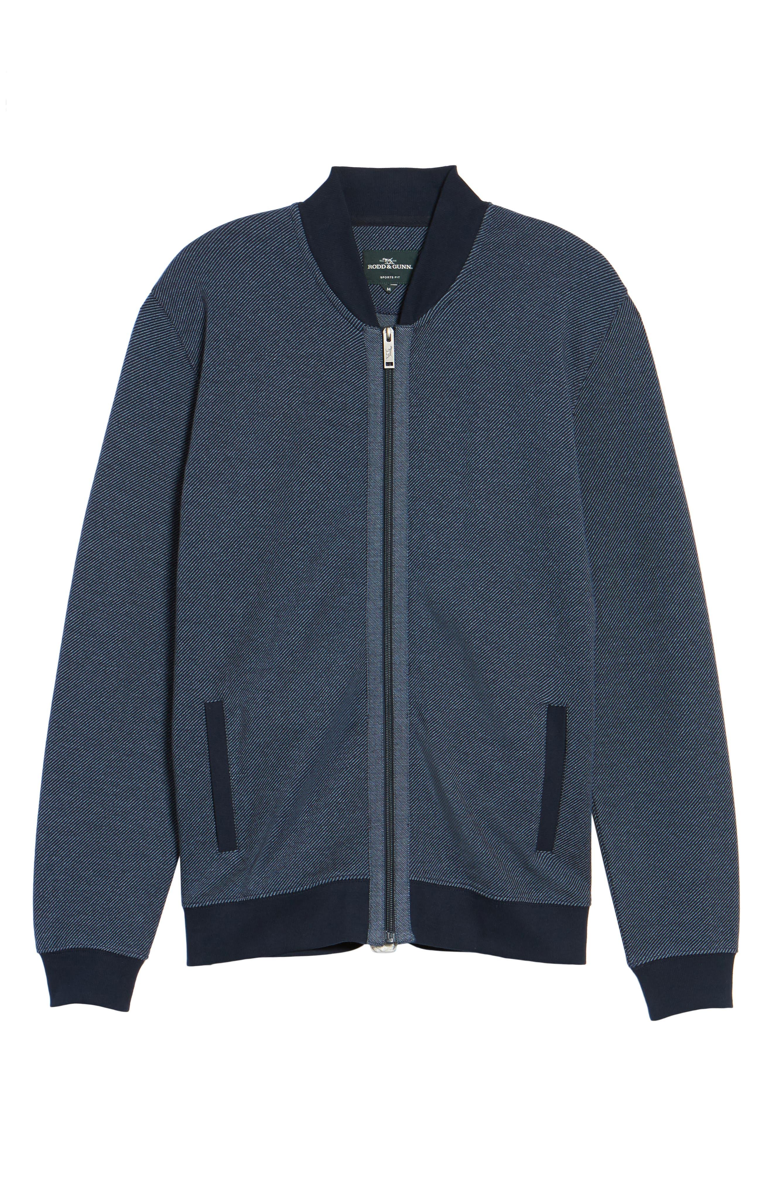 Alderson Ave Fleece Jacket,                             Alternate thumbnail 6, color,                             Navy