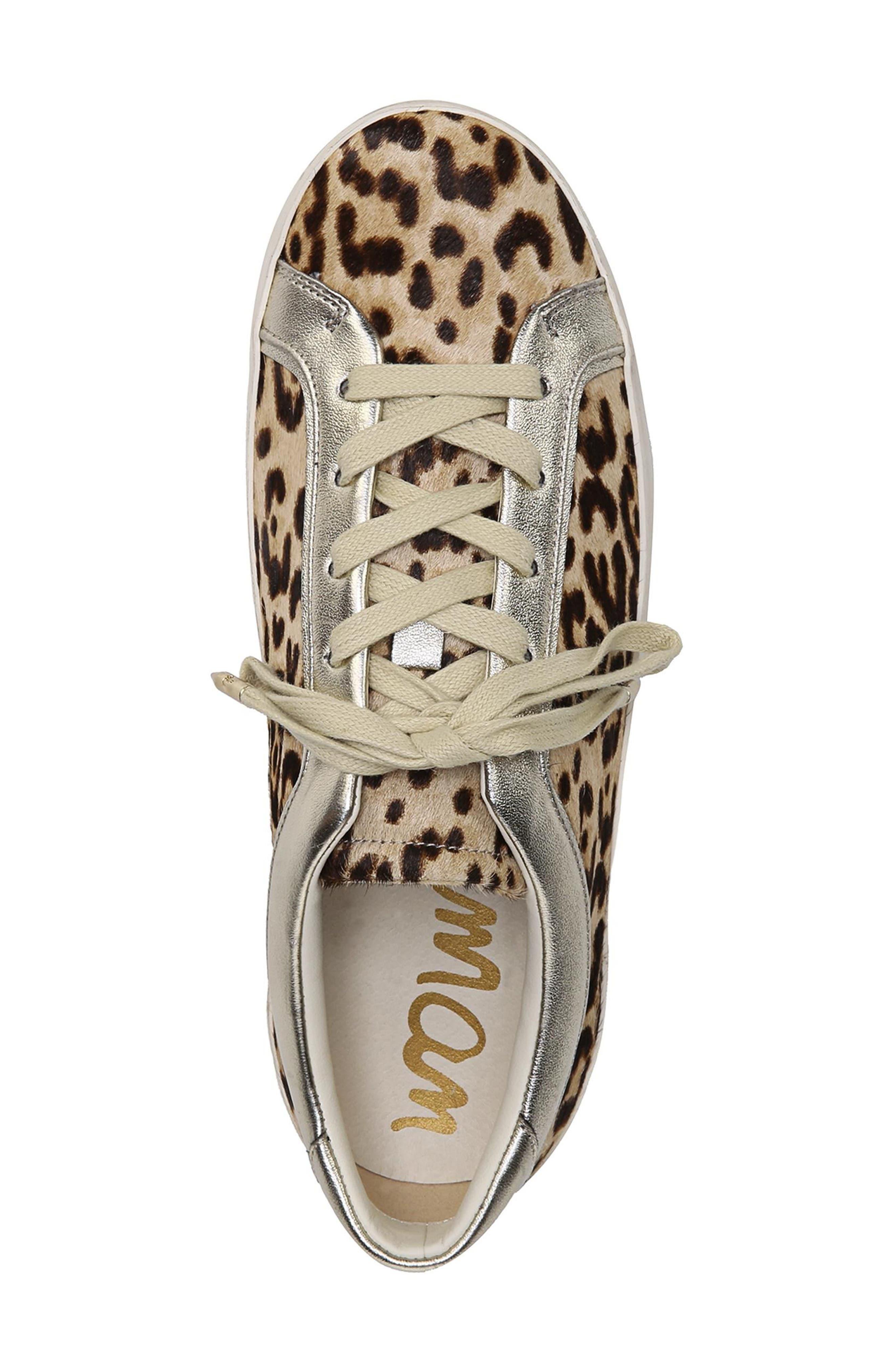 Britton 2 Sneaker,                             Alternate thumbnail 6, color,                             Leopard Brahma Hair