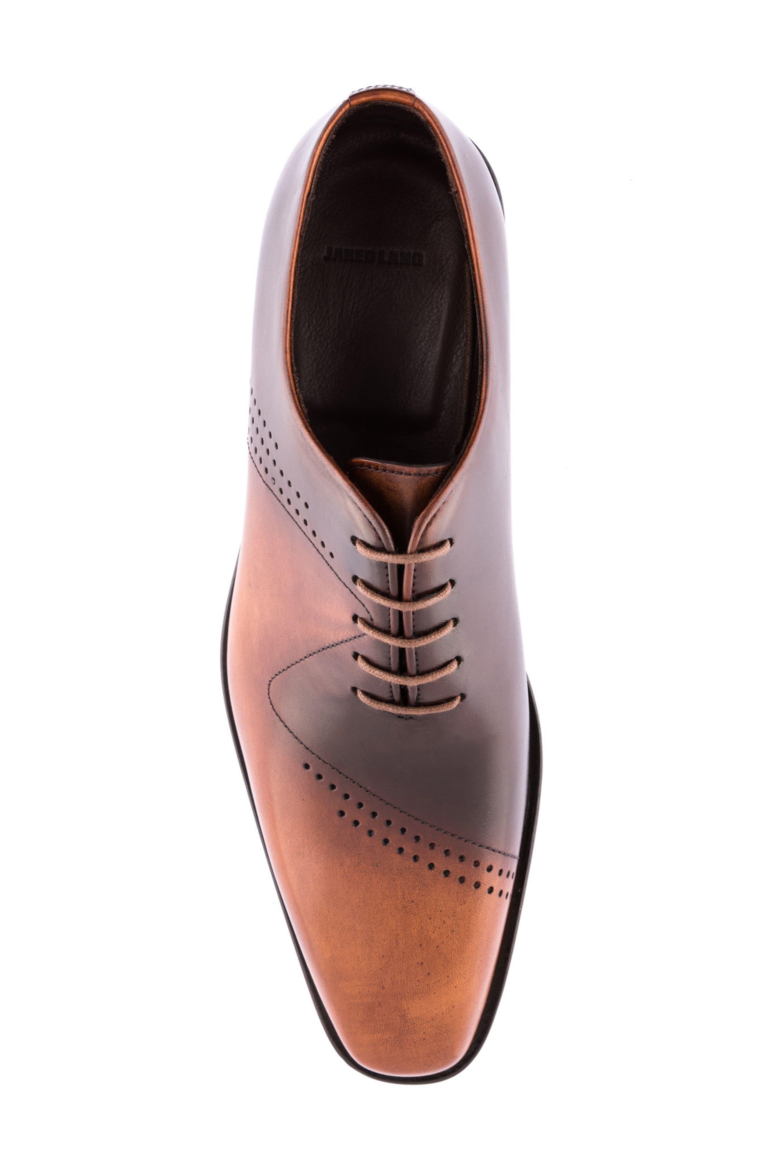 Alternate Image 5  - Jared Lang Buffer Plain Toe Oxford (Men)