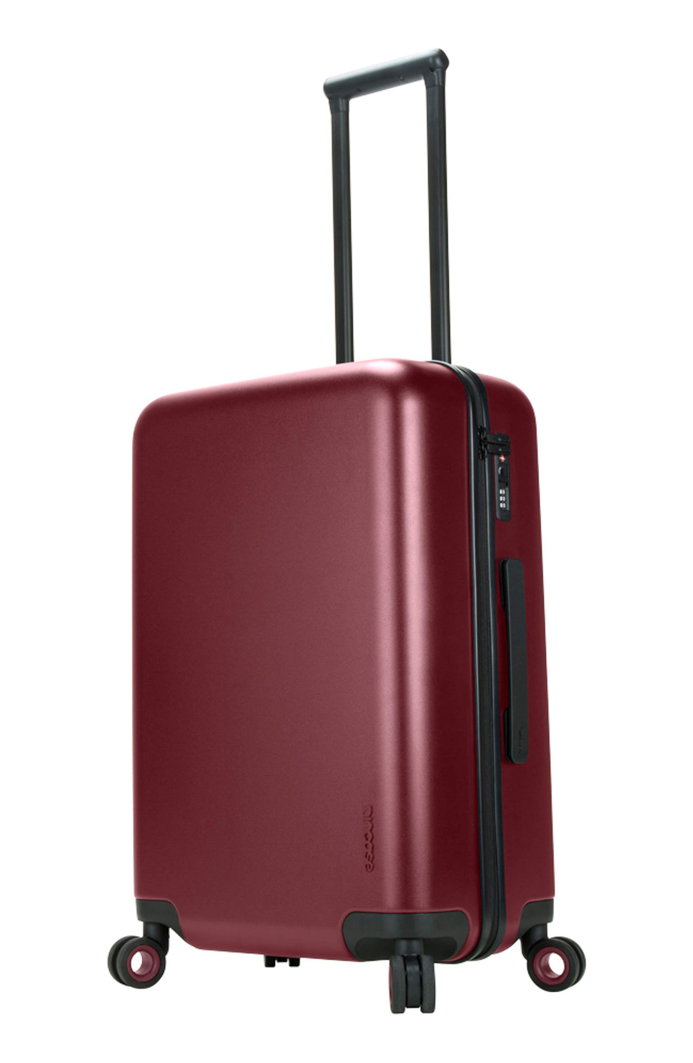 NOVI 31-Inch Hardshell Wheeled Packing Case,                             Alternate thumbnail 5, color,                             Deep Red