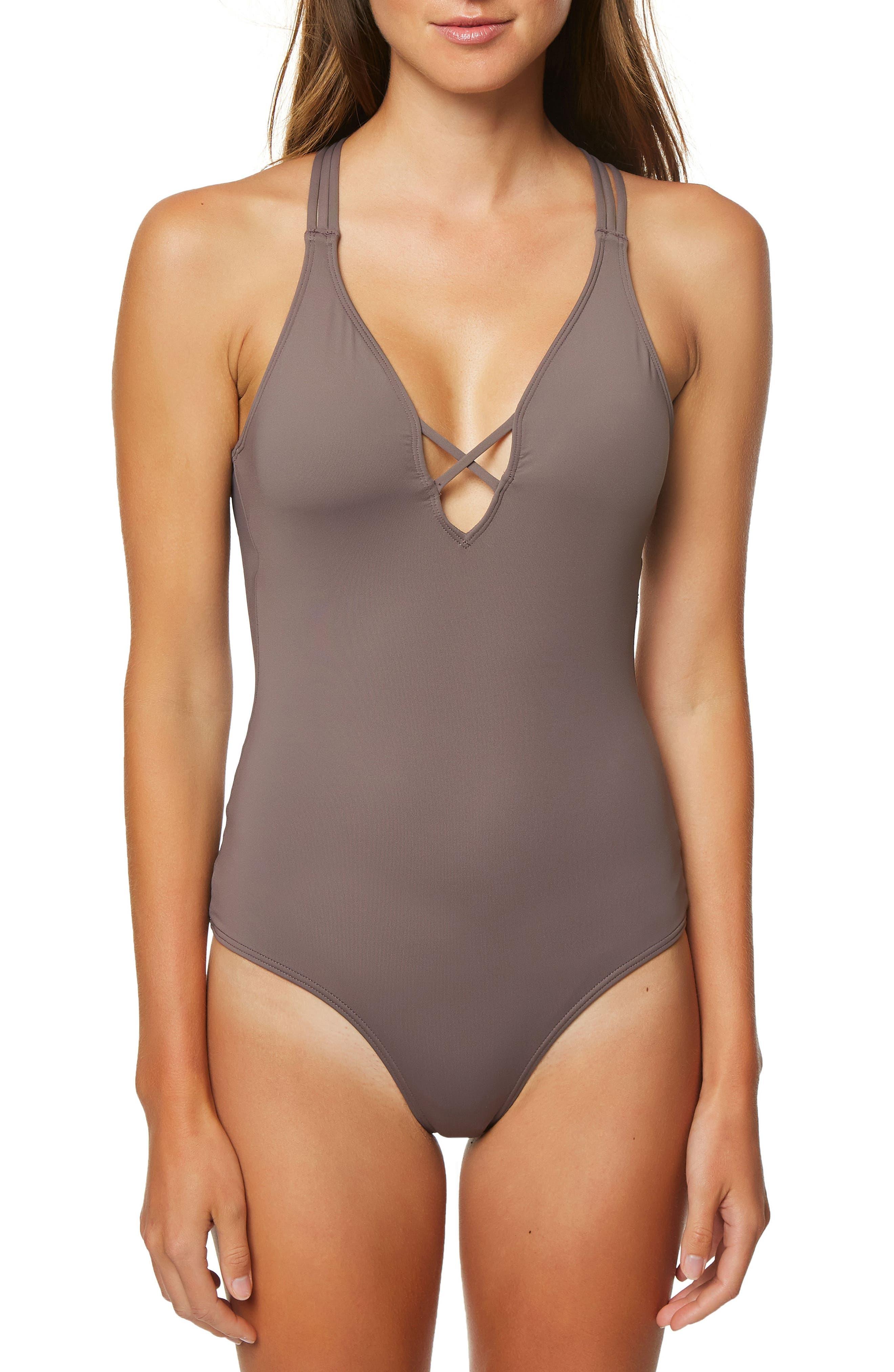 O'Neill Salt Water One-Piece Swimsuit
