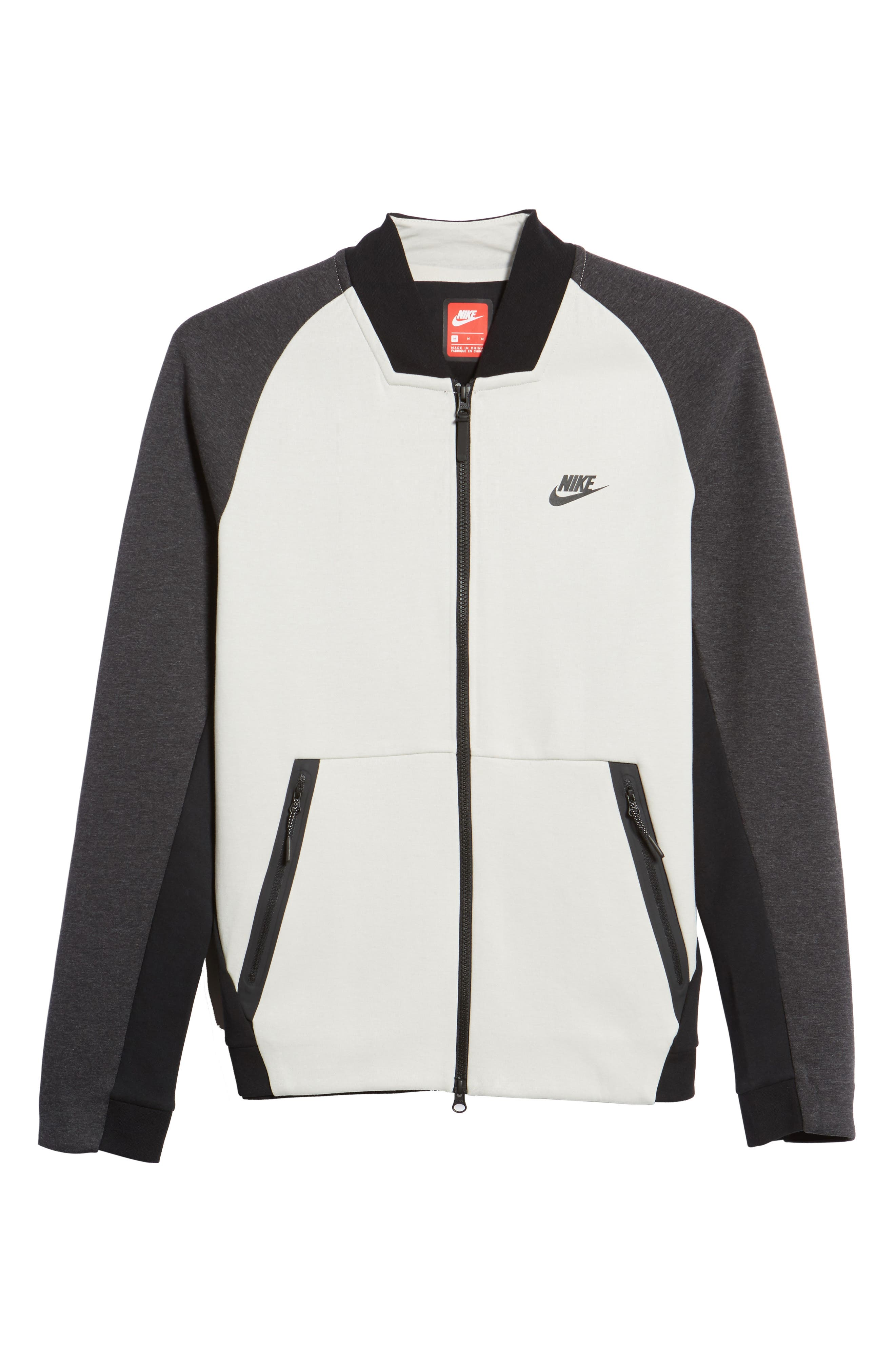 Alternate Image 5  - Nike Tech Fleece Varsity Jacket