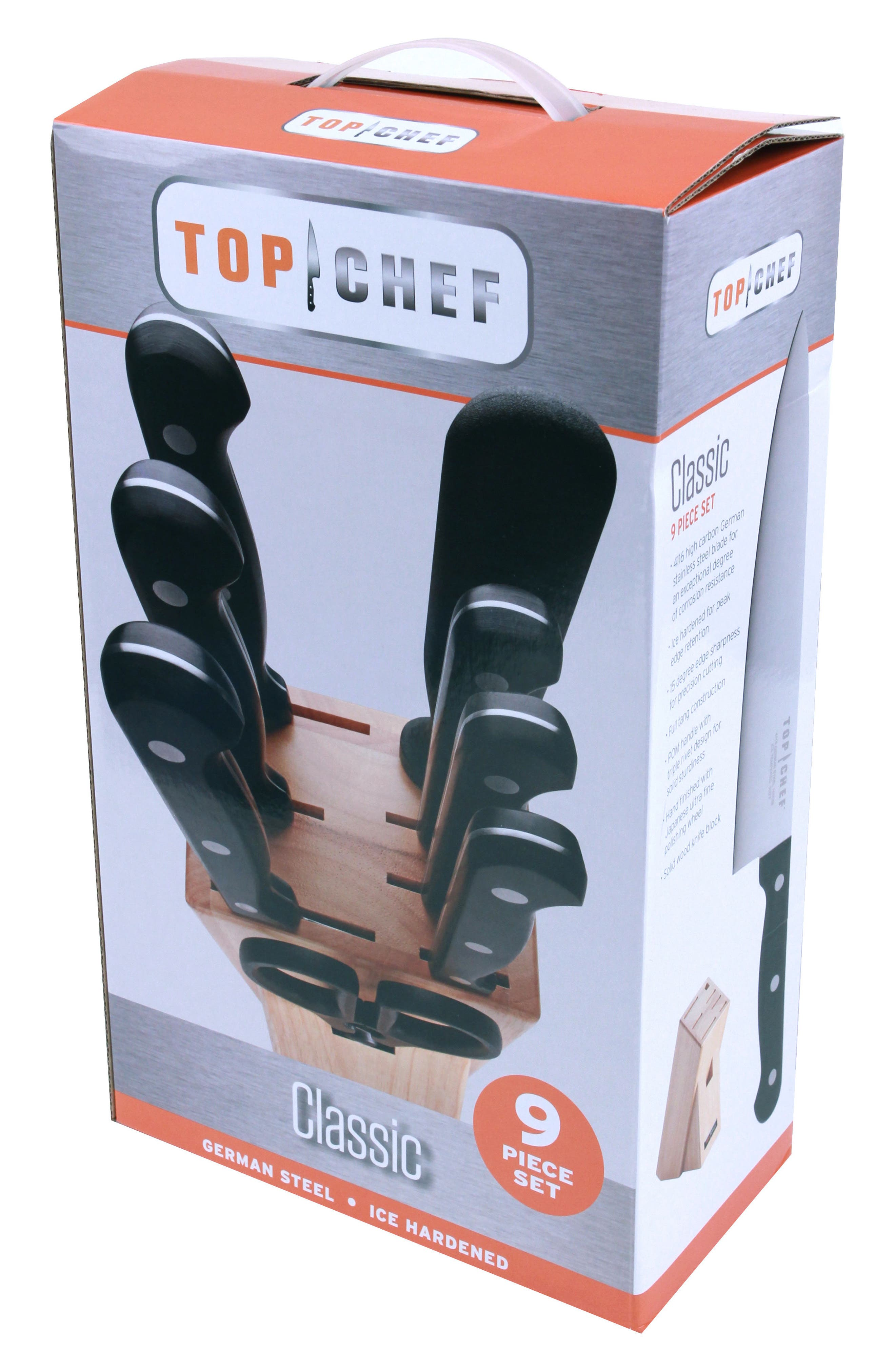 Alternate Image 5  - TOP CHEF Classic 9-Piece Knife Block Set
