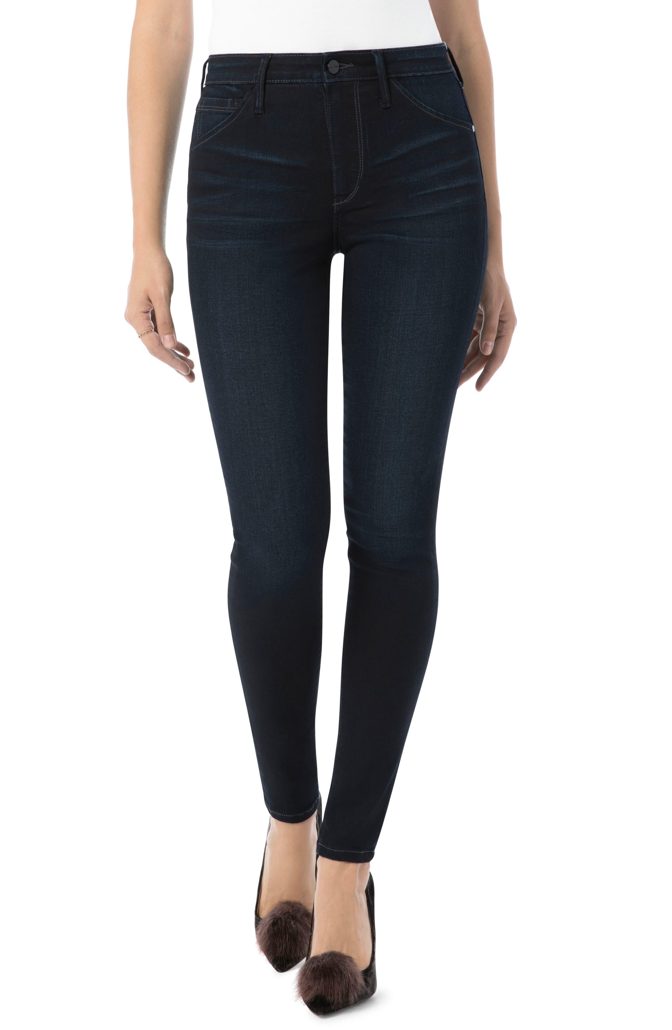Main Image - Sam Edelman Stiletto High Rise Skinny Jeans (Bronwyn)