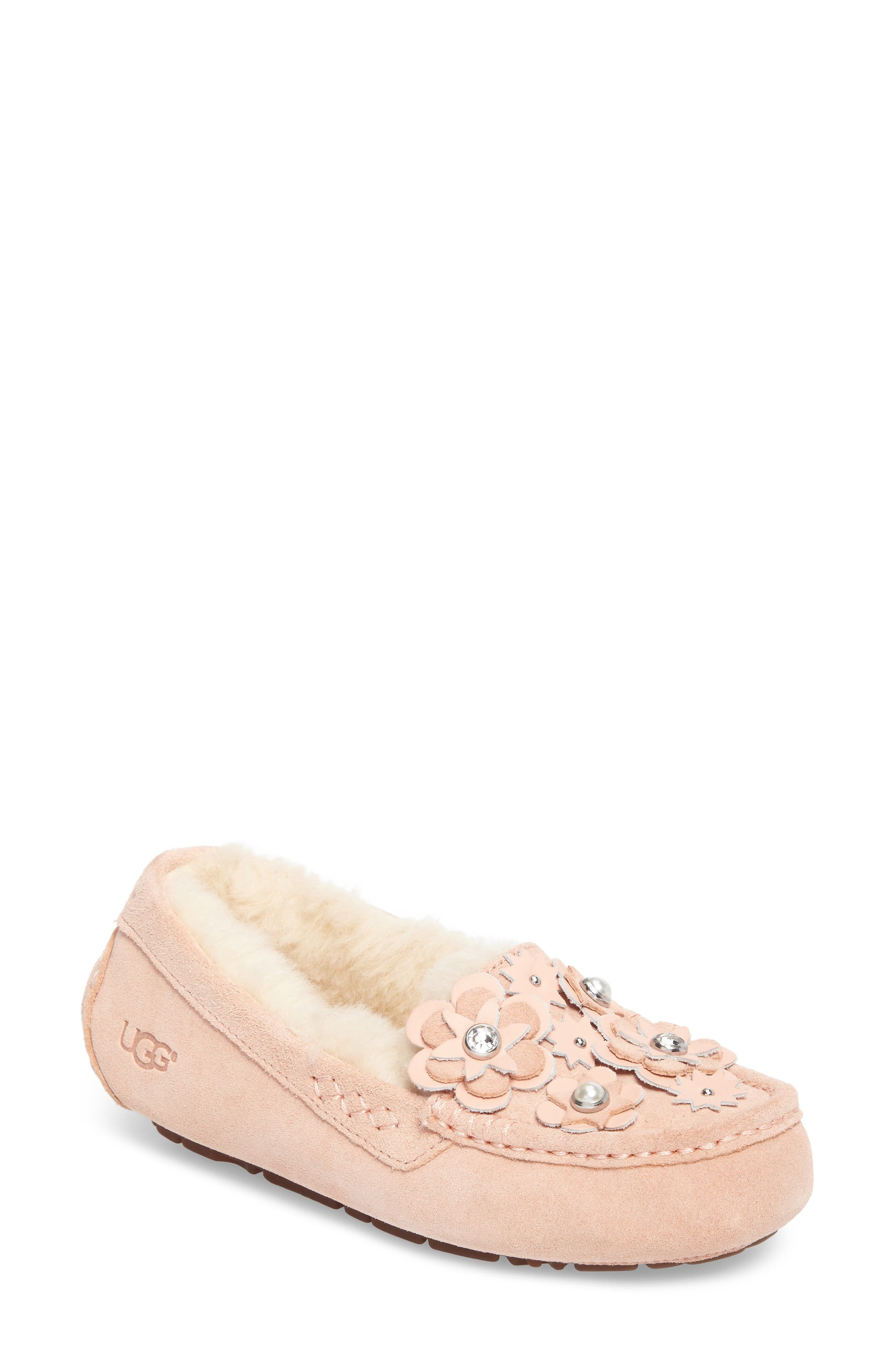Alternate Image 1 Selected - UGG® Ansley Petal Water Resistant Slipper (Women)