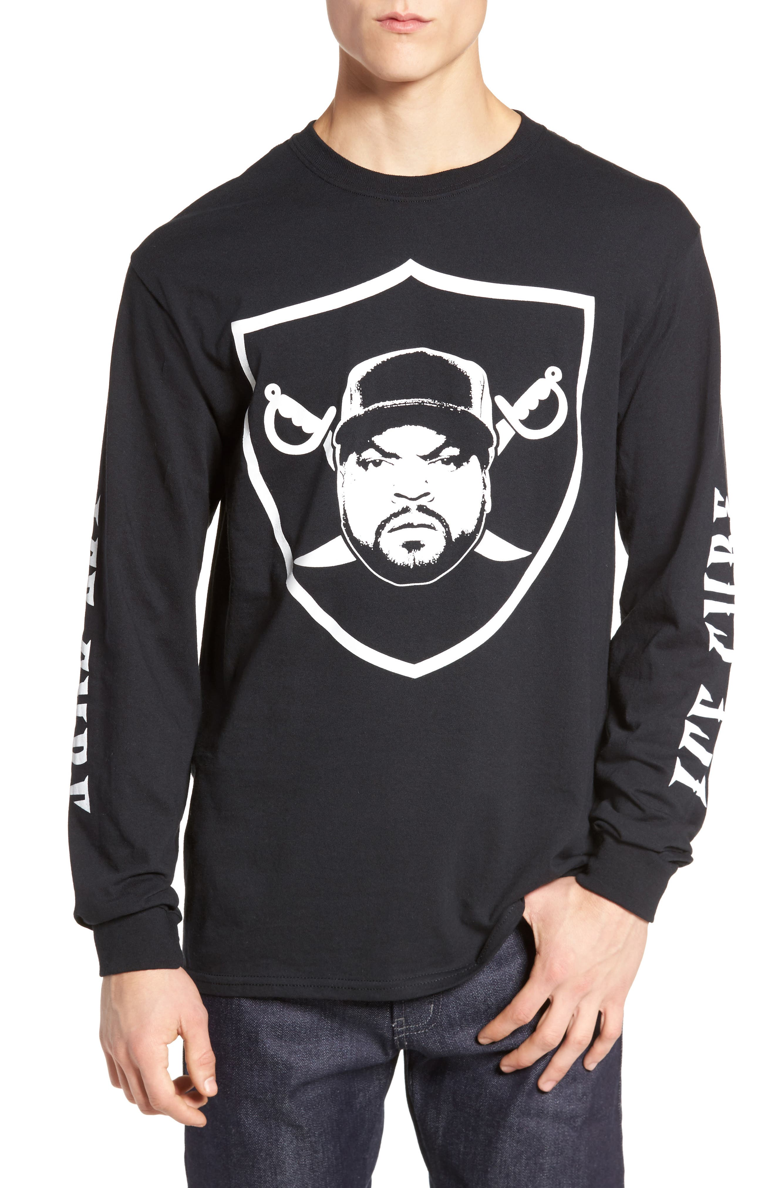 The Rail Ice Cube Raider Graphic T-Shirt