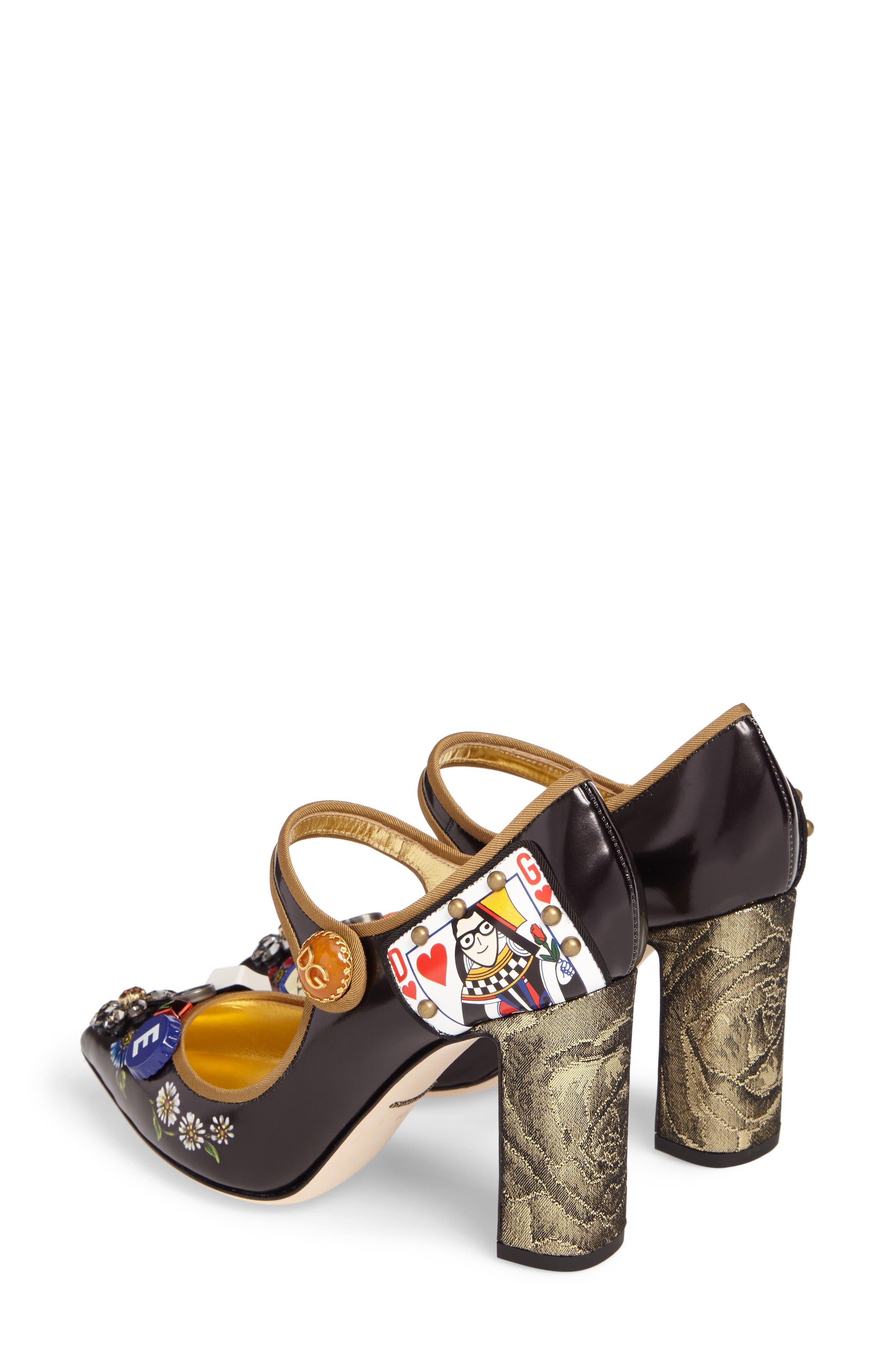 Alternate Image 3  - Dolce&Gabbana Embellished Mary Jane Pump (Women)