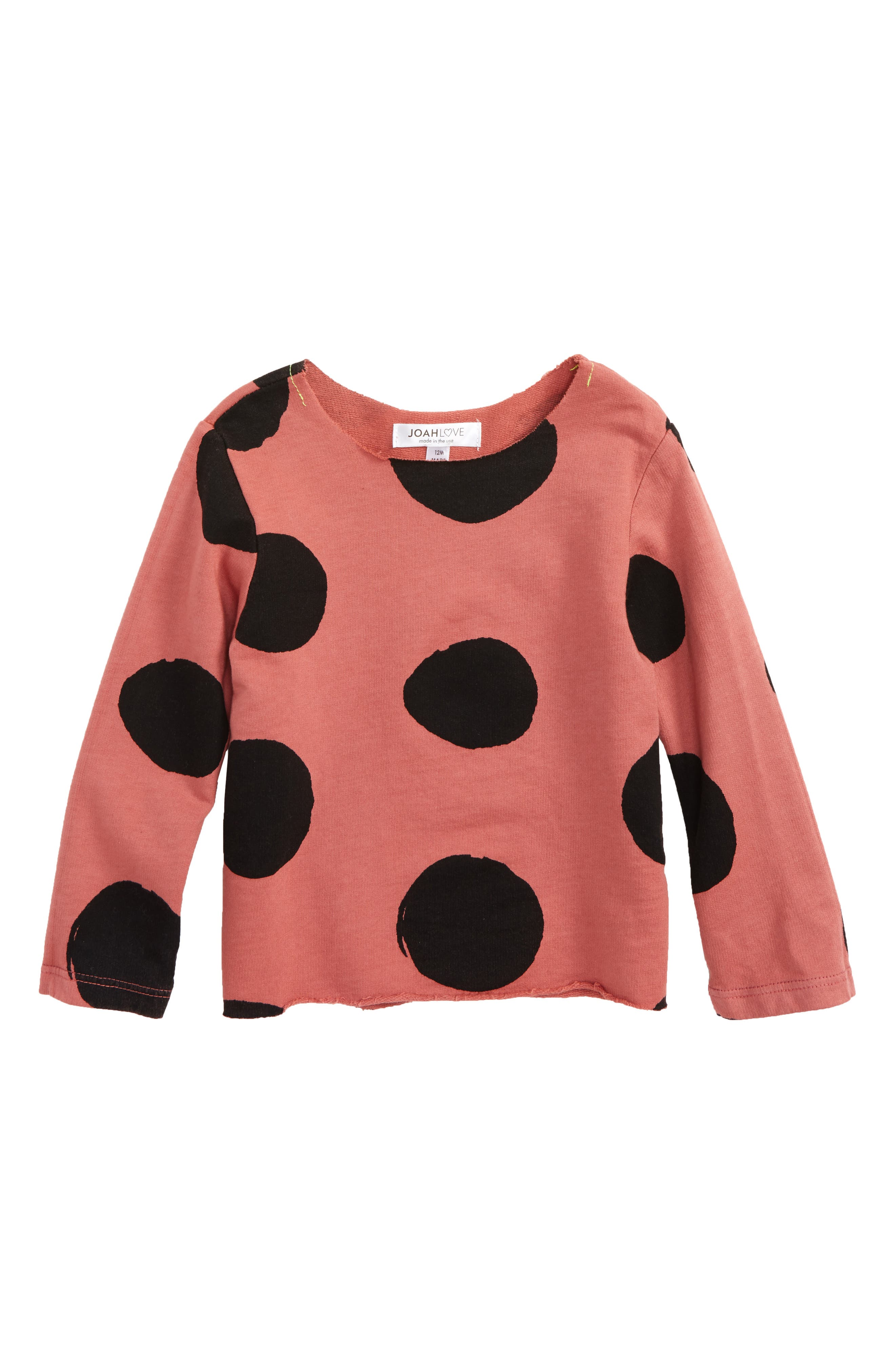 Joah Love Dot Sweatshirt (Baby Girls)