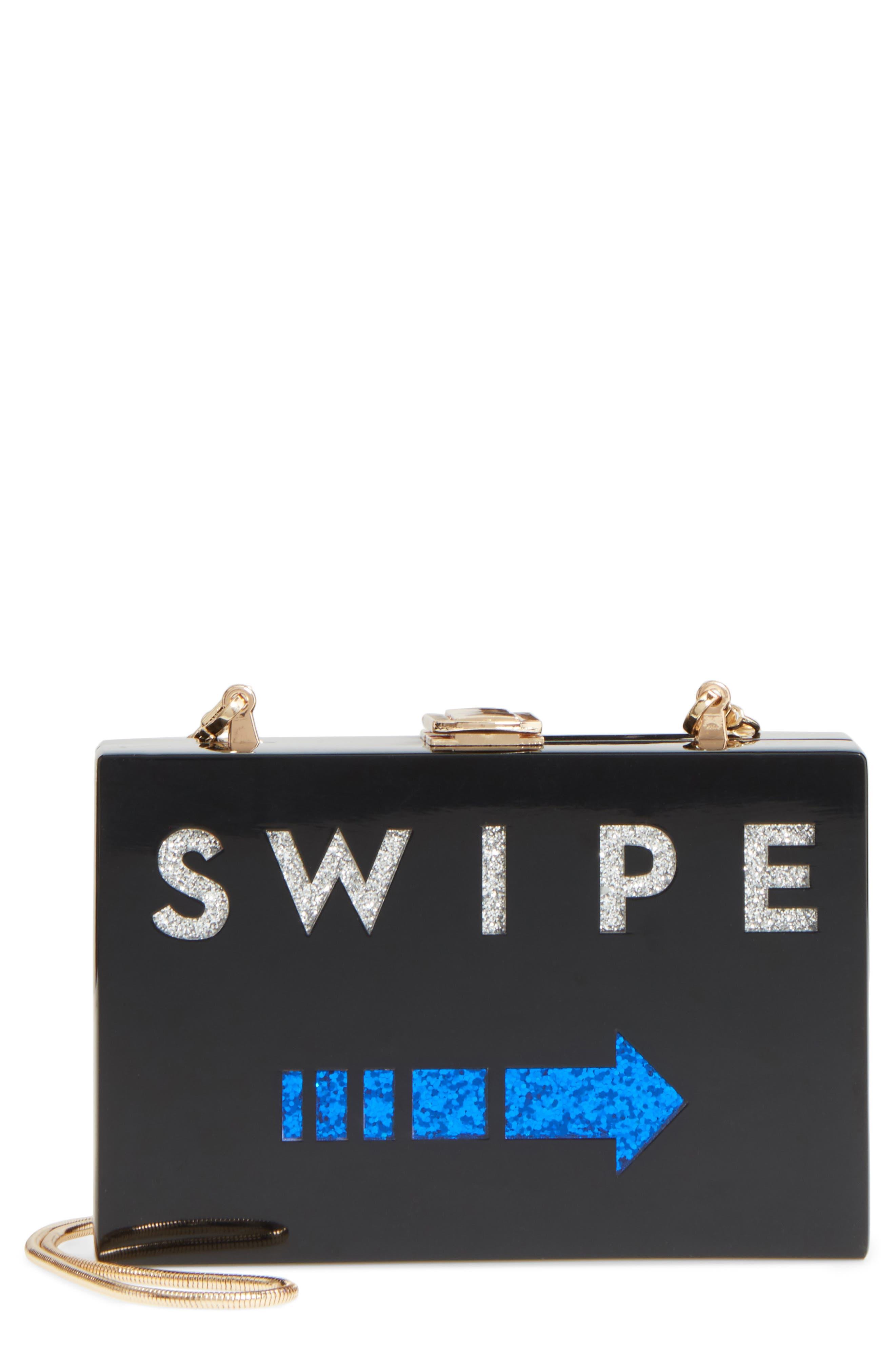 Main Image - Milly Swipe Box Clutch