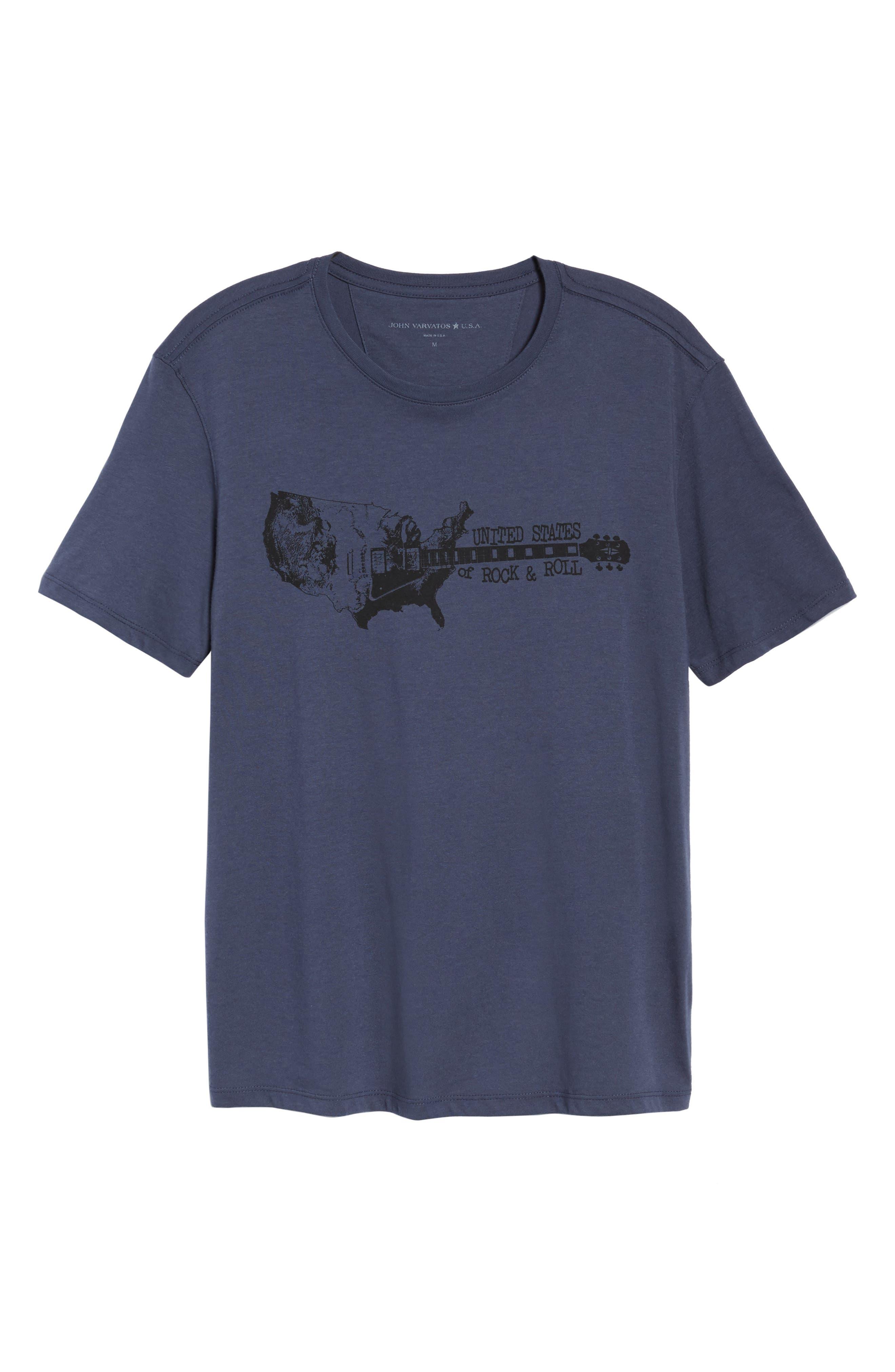 Rock & Roll T-Shirt,                             Alternate thumbnail 6, color,                             Twilight