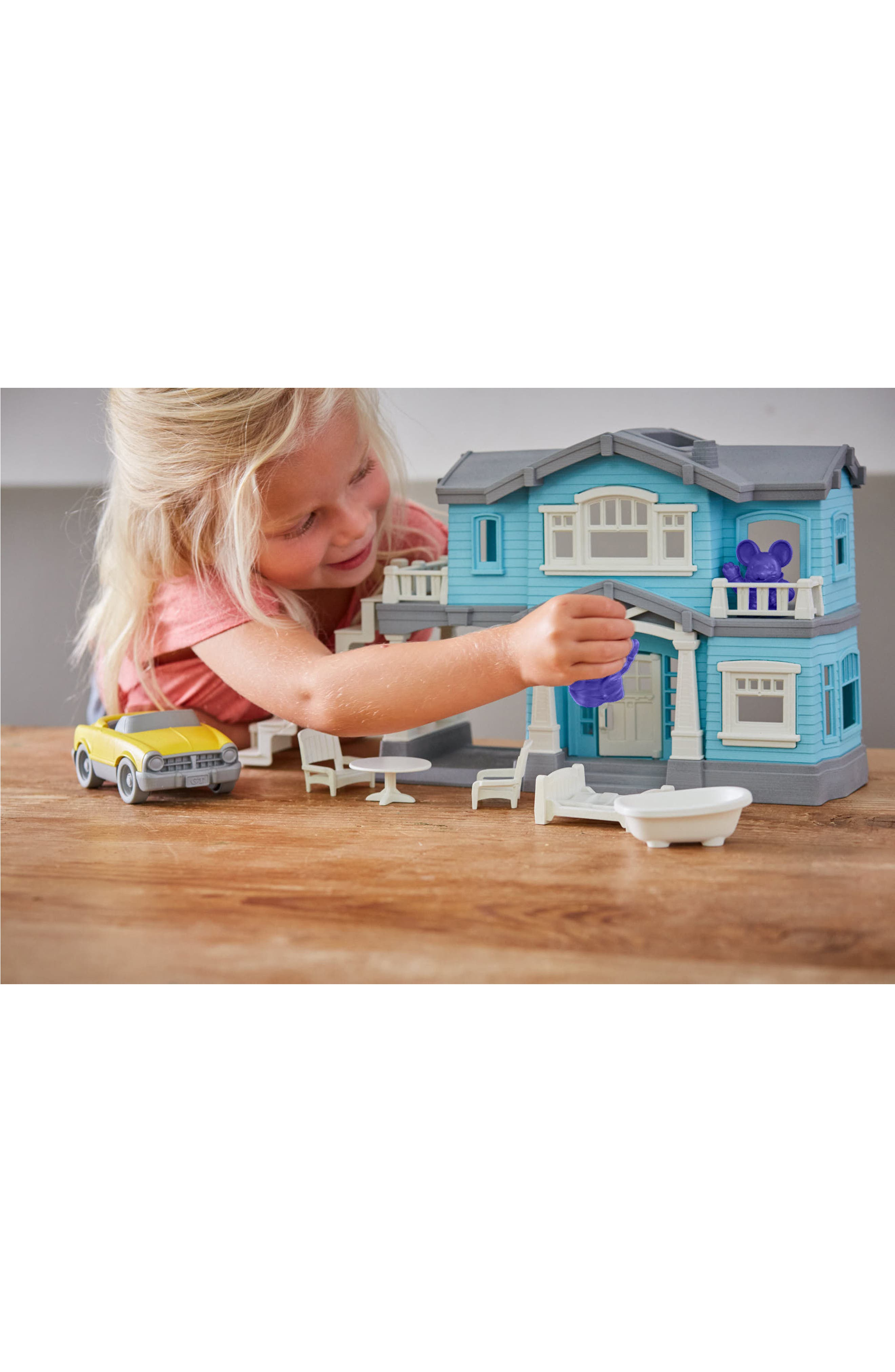 Alternate Image 5  - Green Toys 10-Piece House Play Set