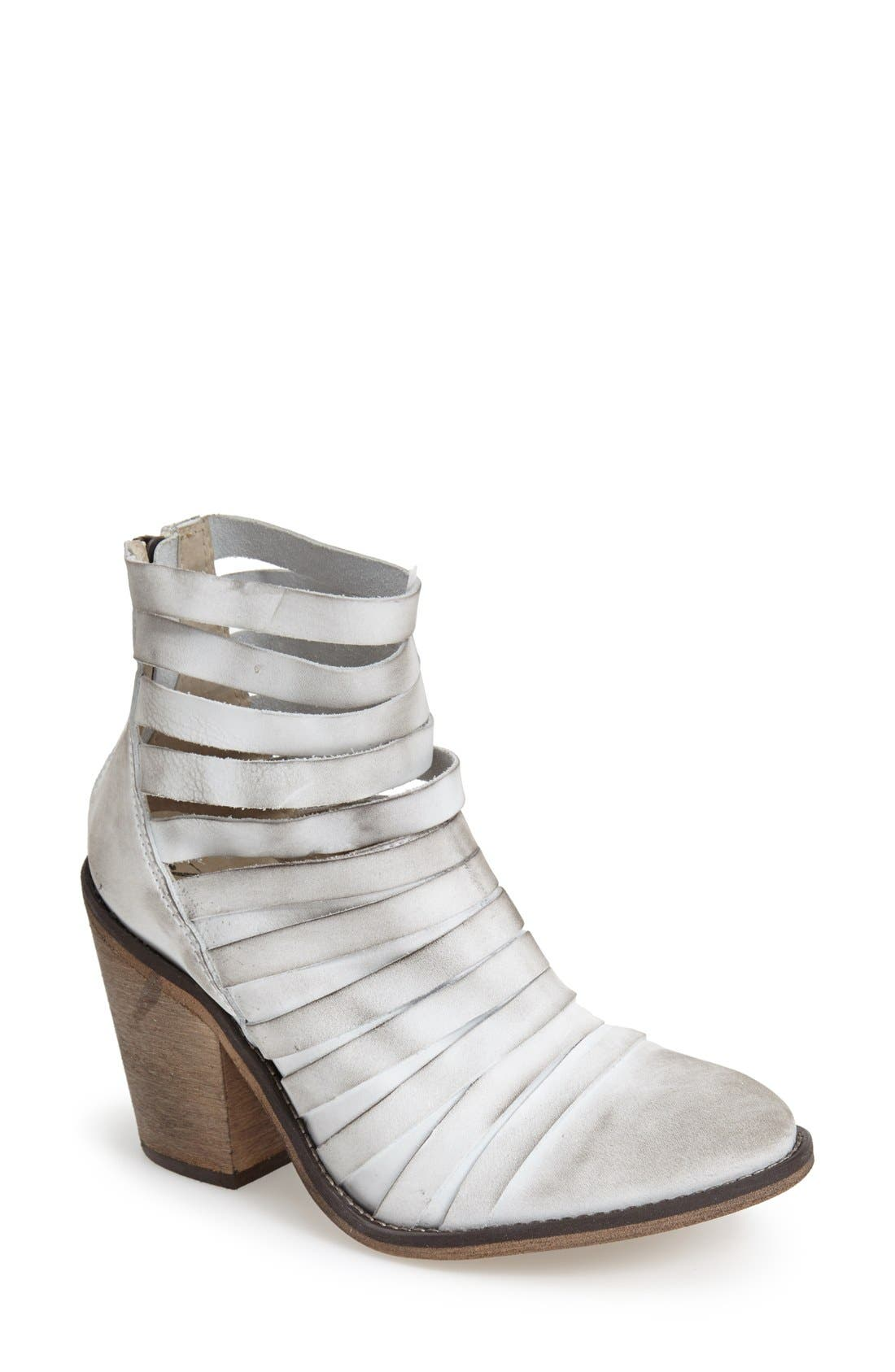 Alternate Image 1 Selected - Free People 'Hybrid' Strappy Leather Bootie (Women)