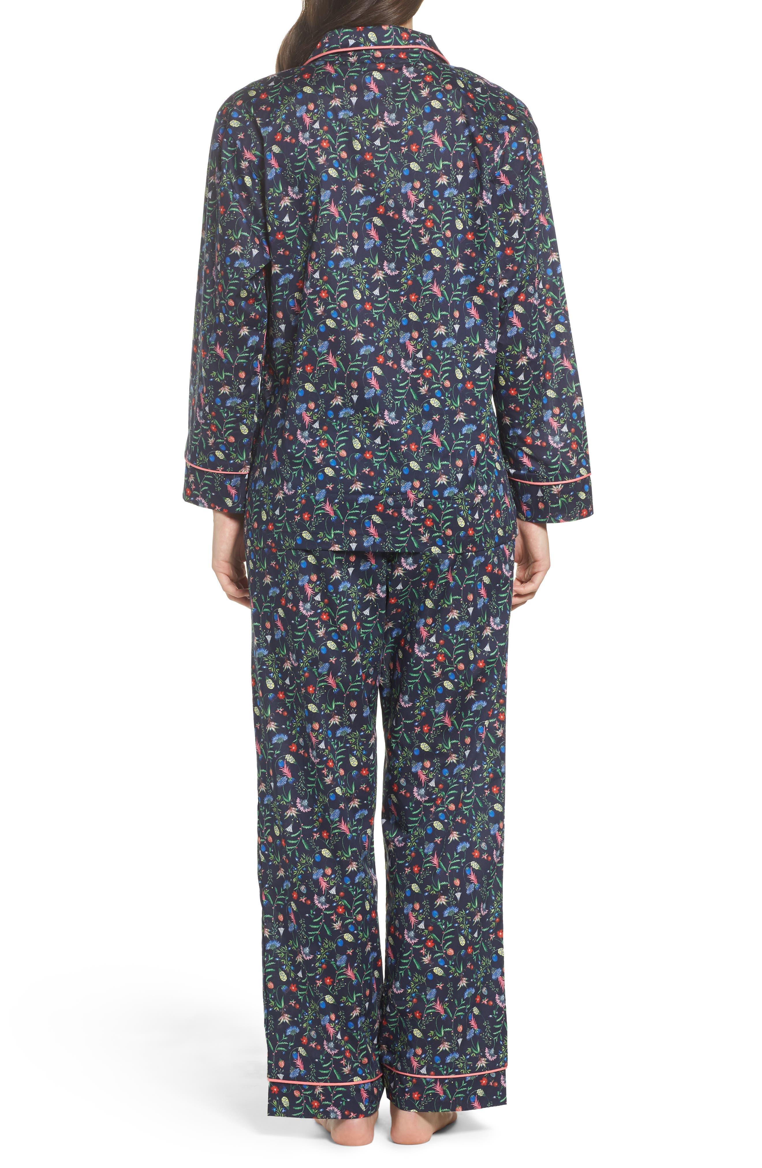 Classic Pajamas,                             Alternate thumbnail 2, color,                             Temptation Meadow