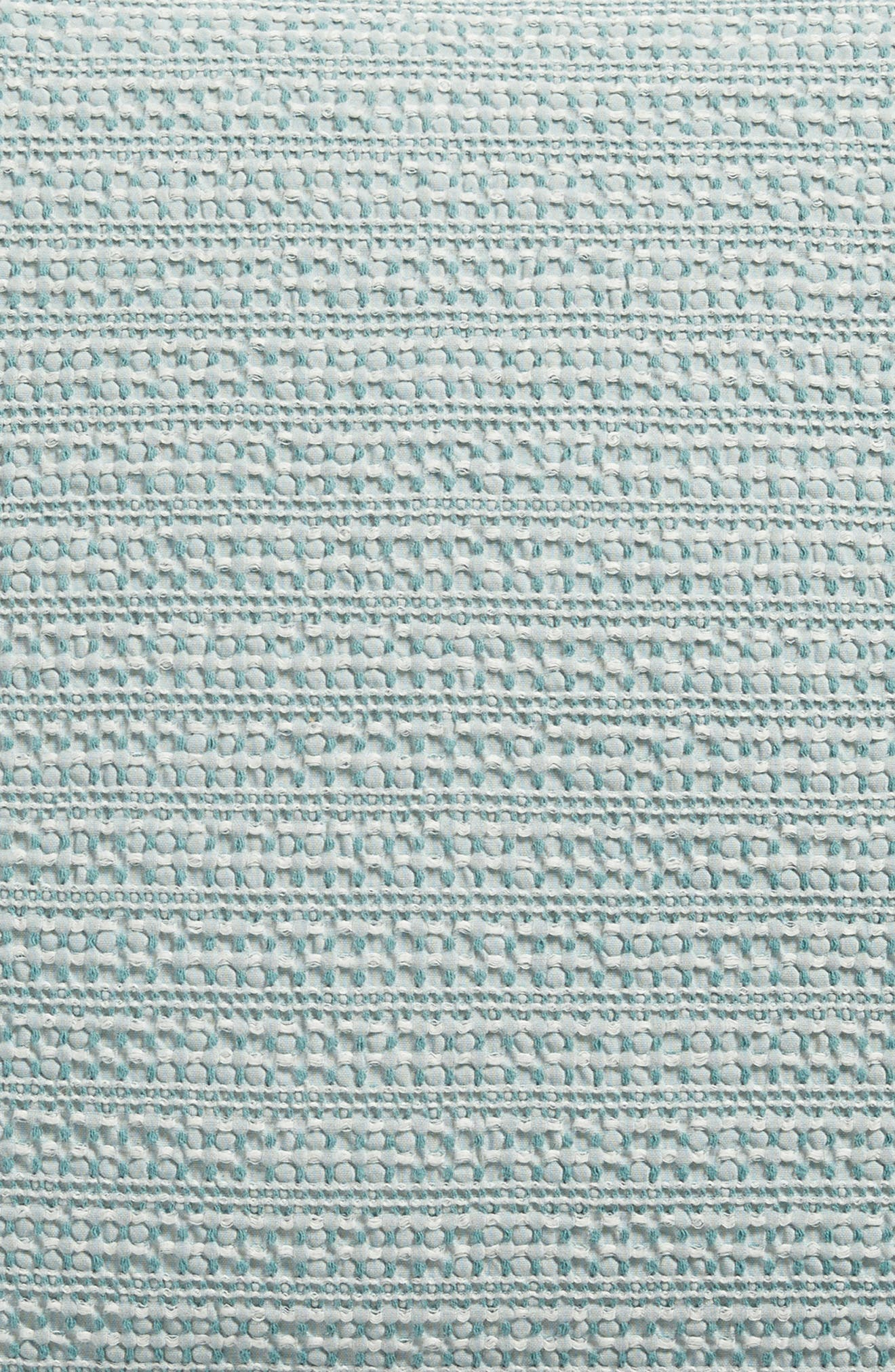 Stitched Accent Pillow,                             Alternate thumbnail 3, color,                             Spa