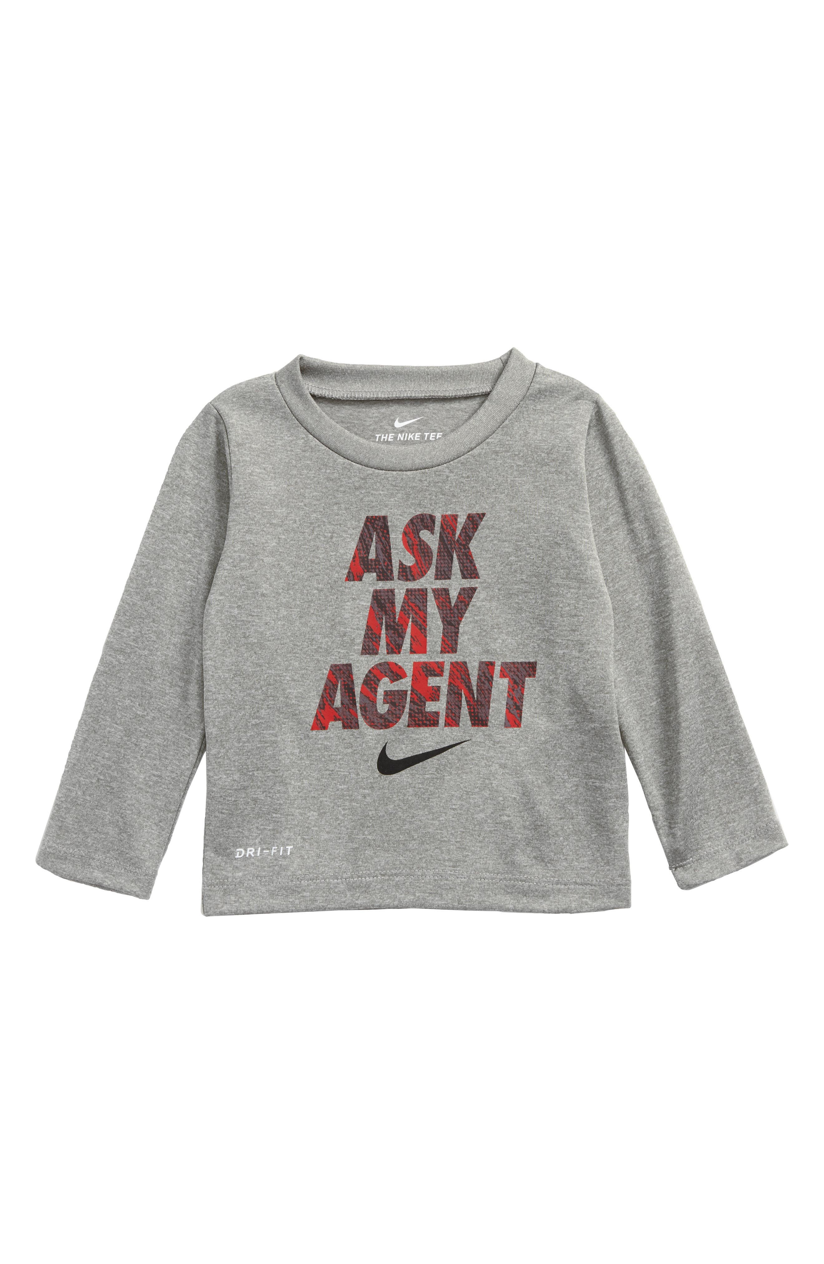 Nike Ask My Agent Dry Graphic T-Shirt (Baby Boys)