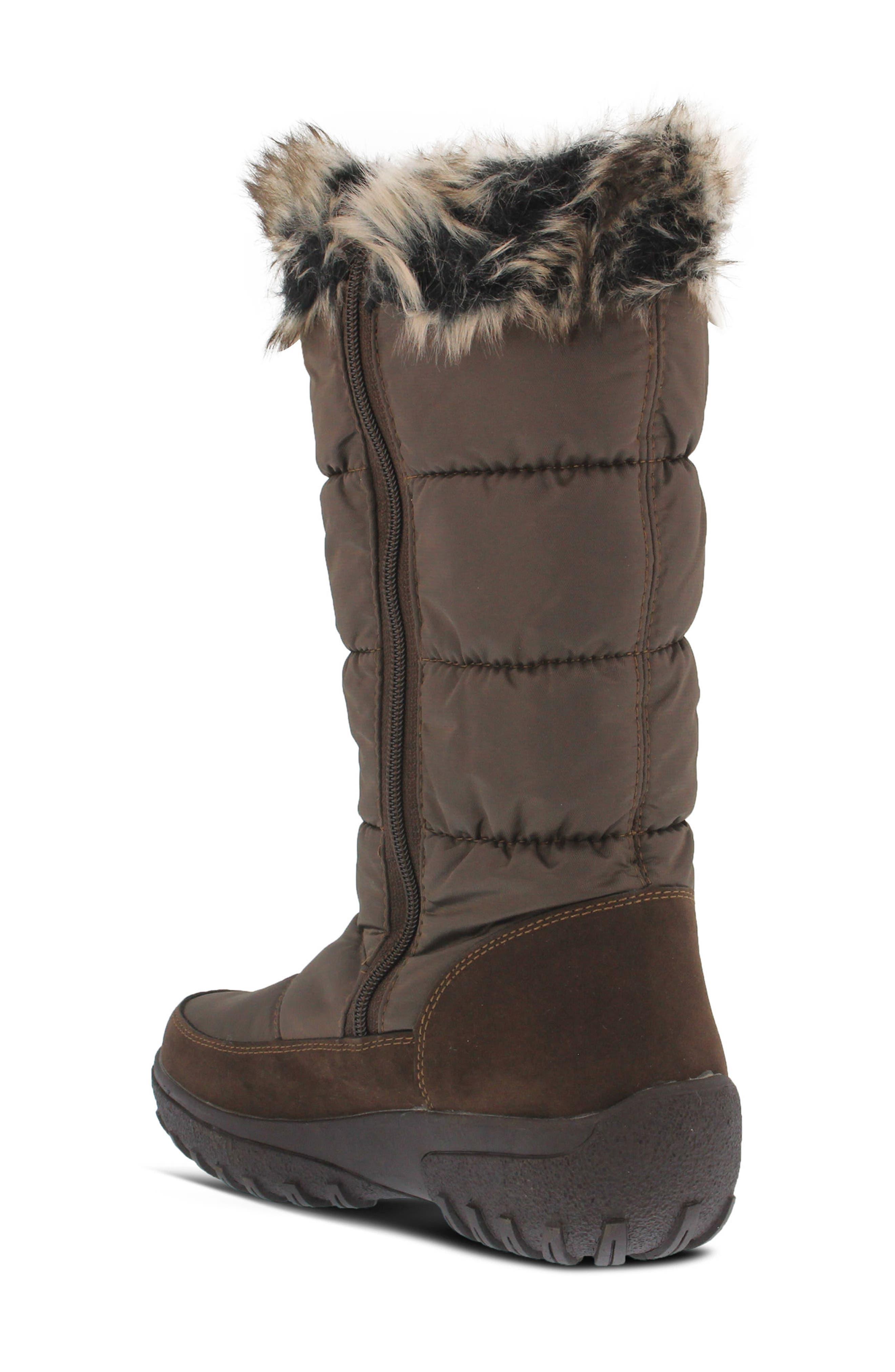 Alternate Image 2  - Spring Step Vanish Faux Fur Trim Waterproof Boot (Women)