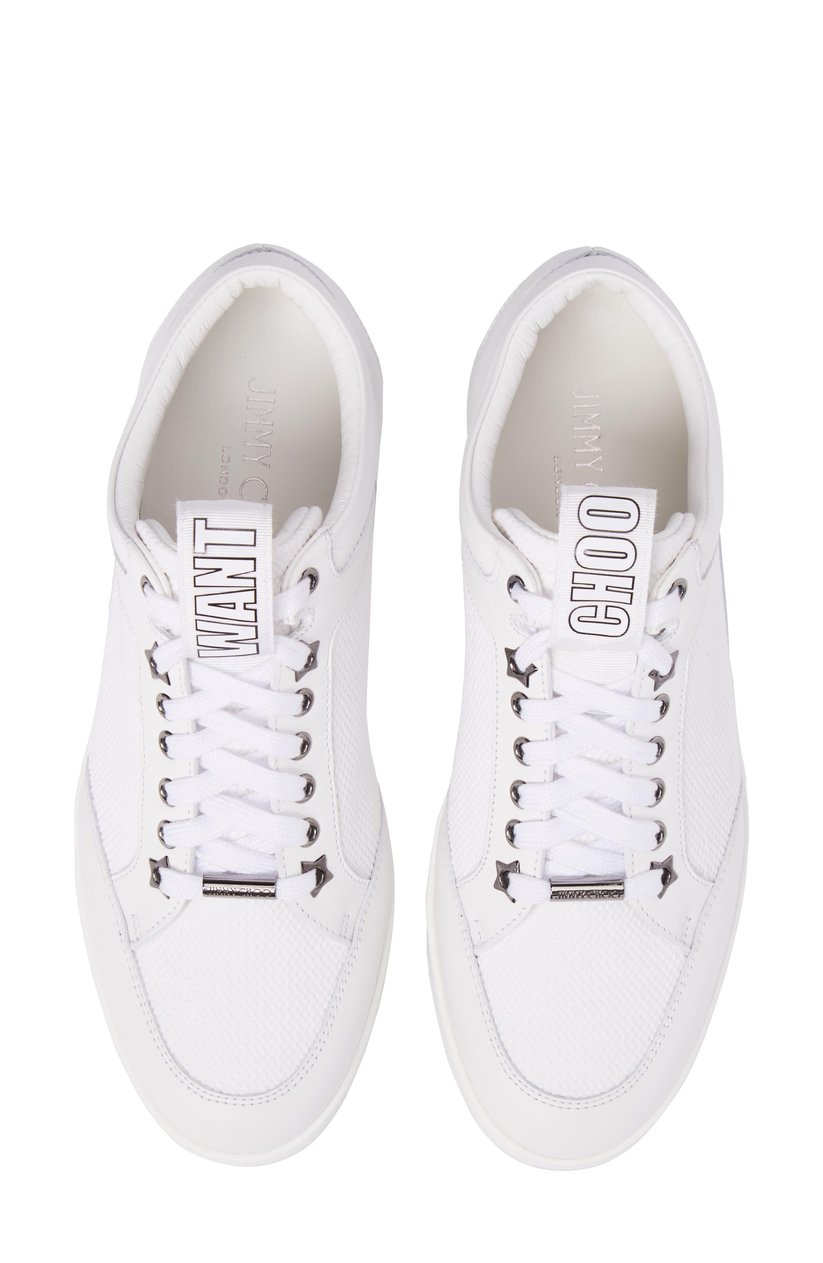 Alternate Image 1 Selected - Jimmy Choo Miami Mid Top Sneaker (Women)