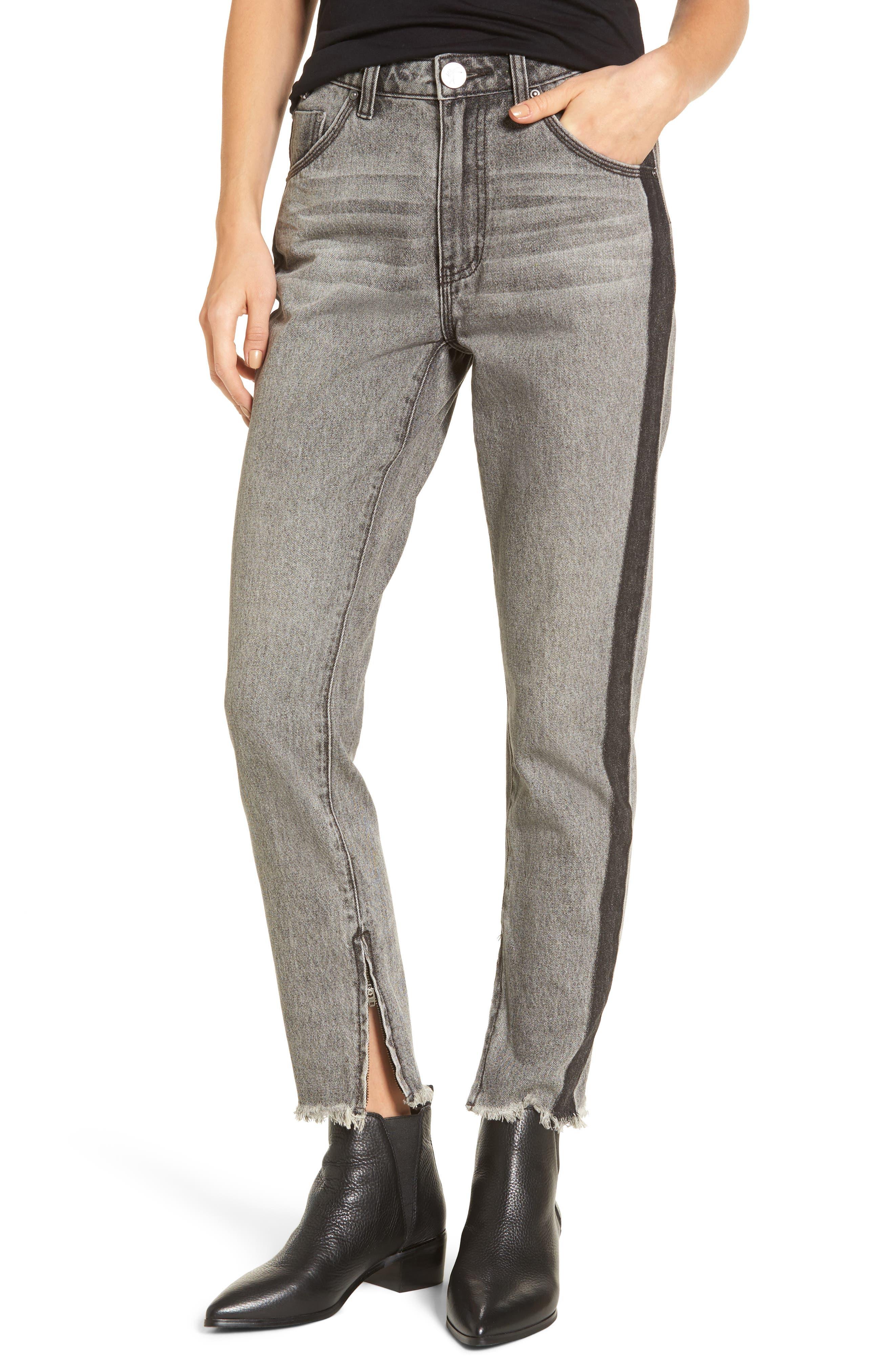Freebirds High Waist Skinny Jeans,                             Main thumbnail 1, color,                             Camden