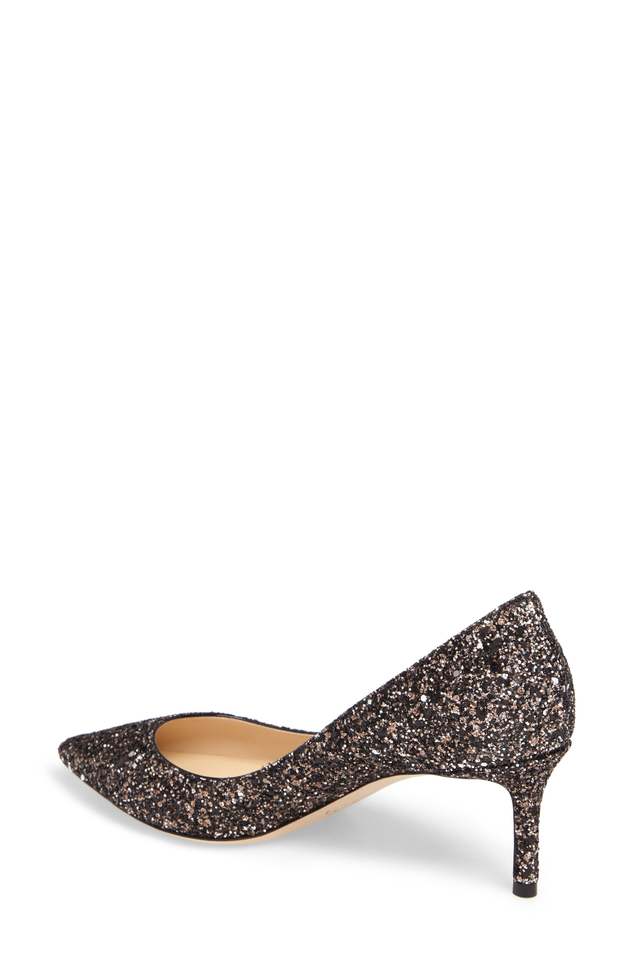 Alternate Image 2  - Jimmy Choo Romy Glitter Pump (Women)