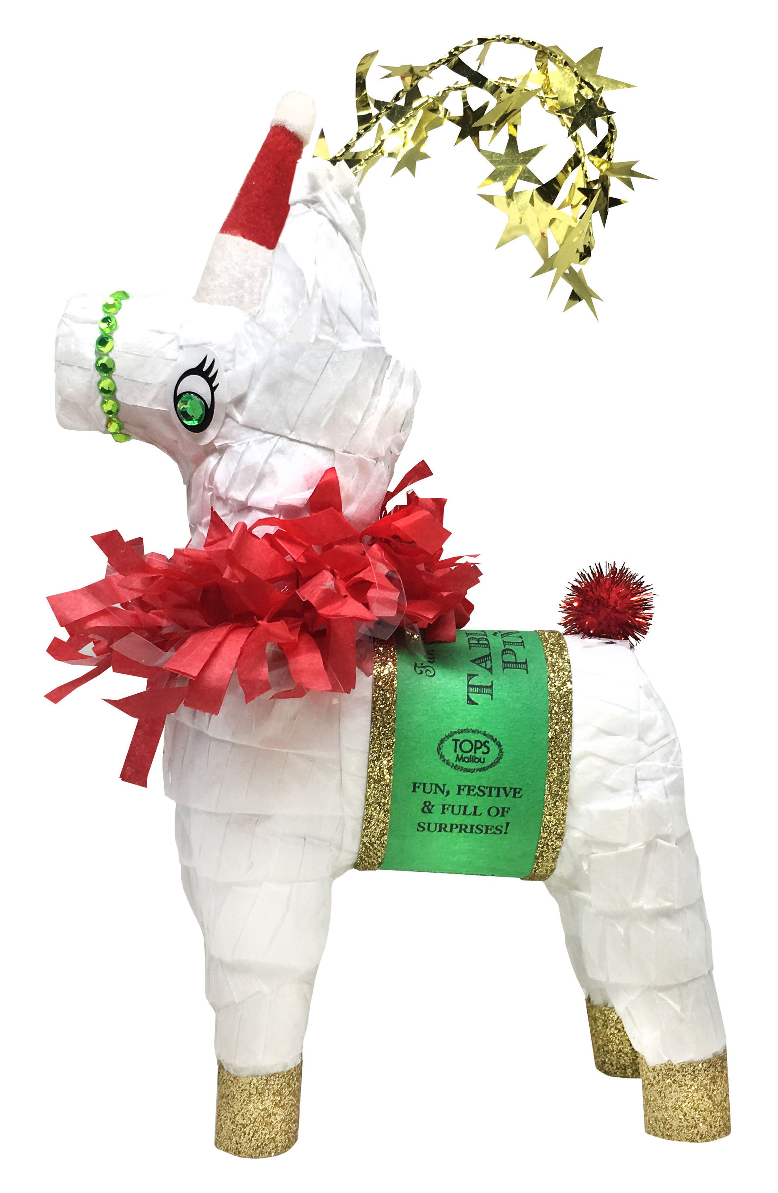 Tops Malibu Mini Tabletop Reindeer Piñata