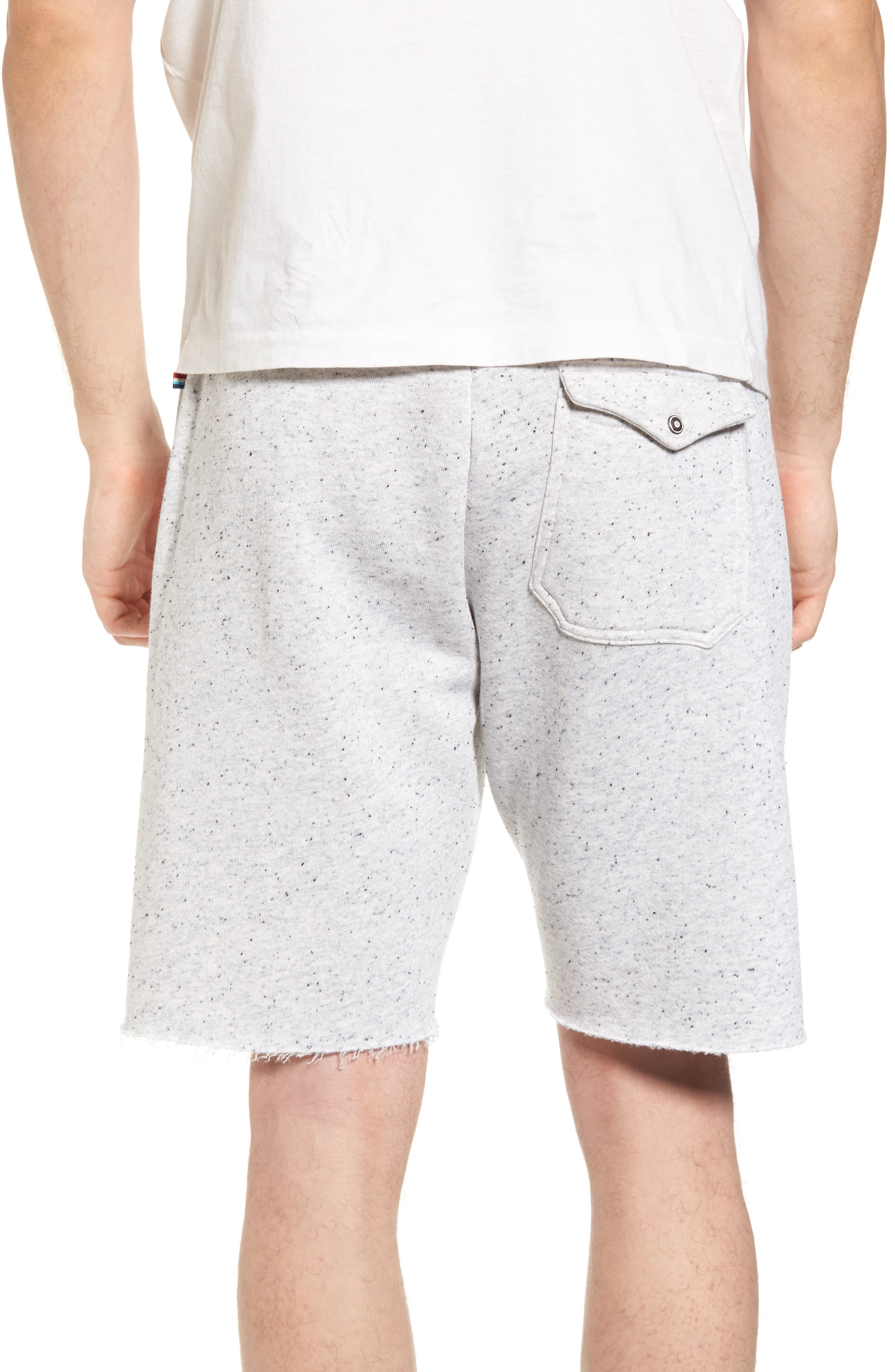 Peppered Shorts,                             Alternate thumbnail 2, color,                             Light Grey