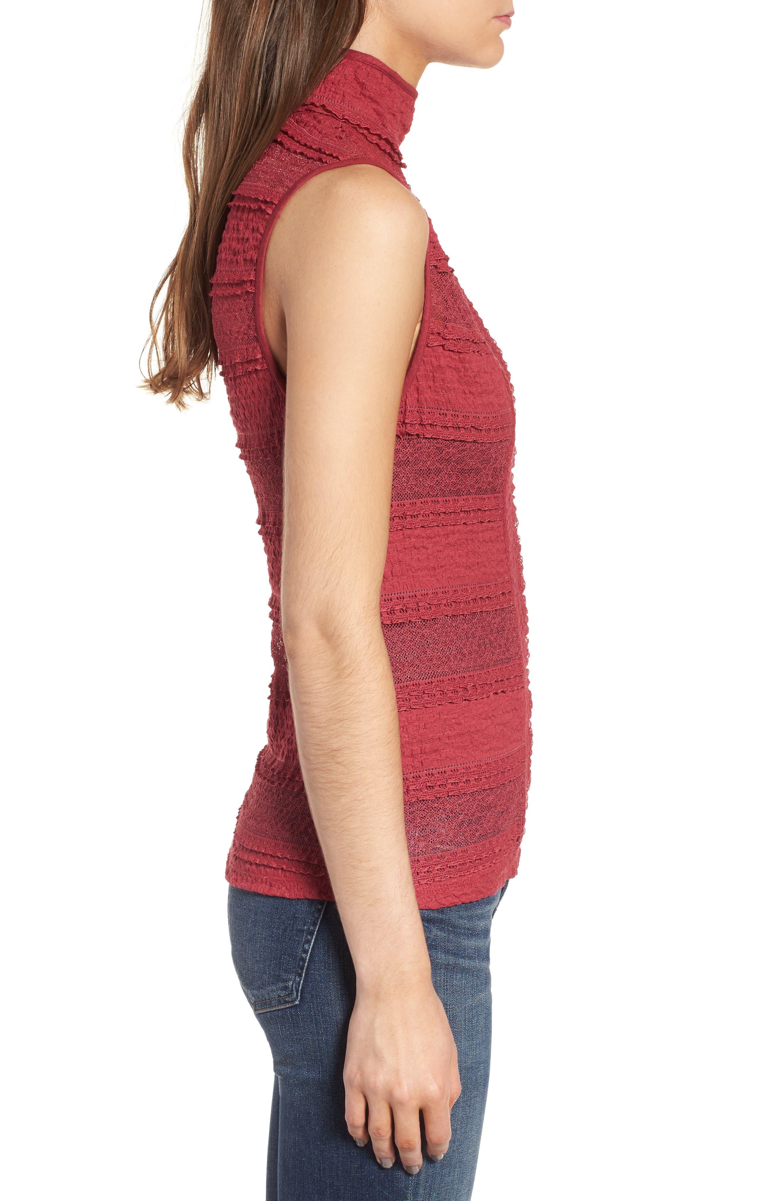 Alternate Image 3  - Ella Moss Violette Turtleneck Sweater