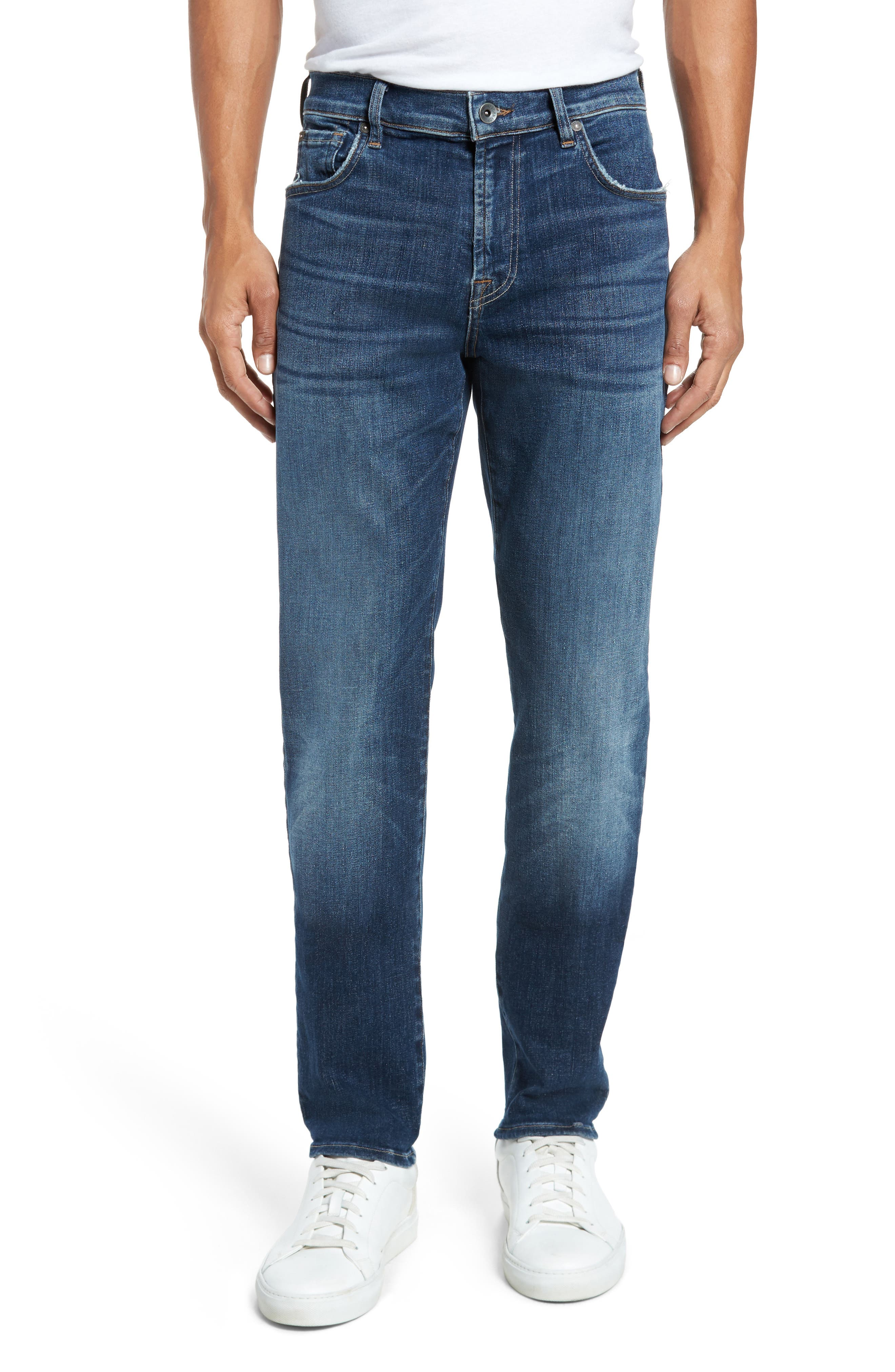 Adrien Slim Fit Jeans,                             Main thumbnail 1, color,                             Authentic Euphoria