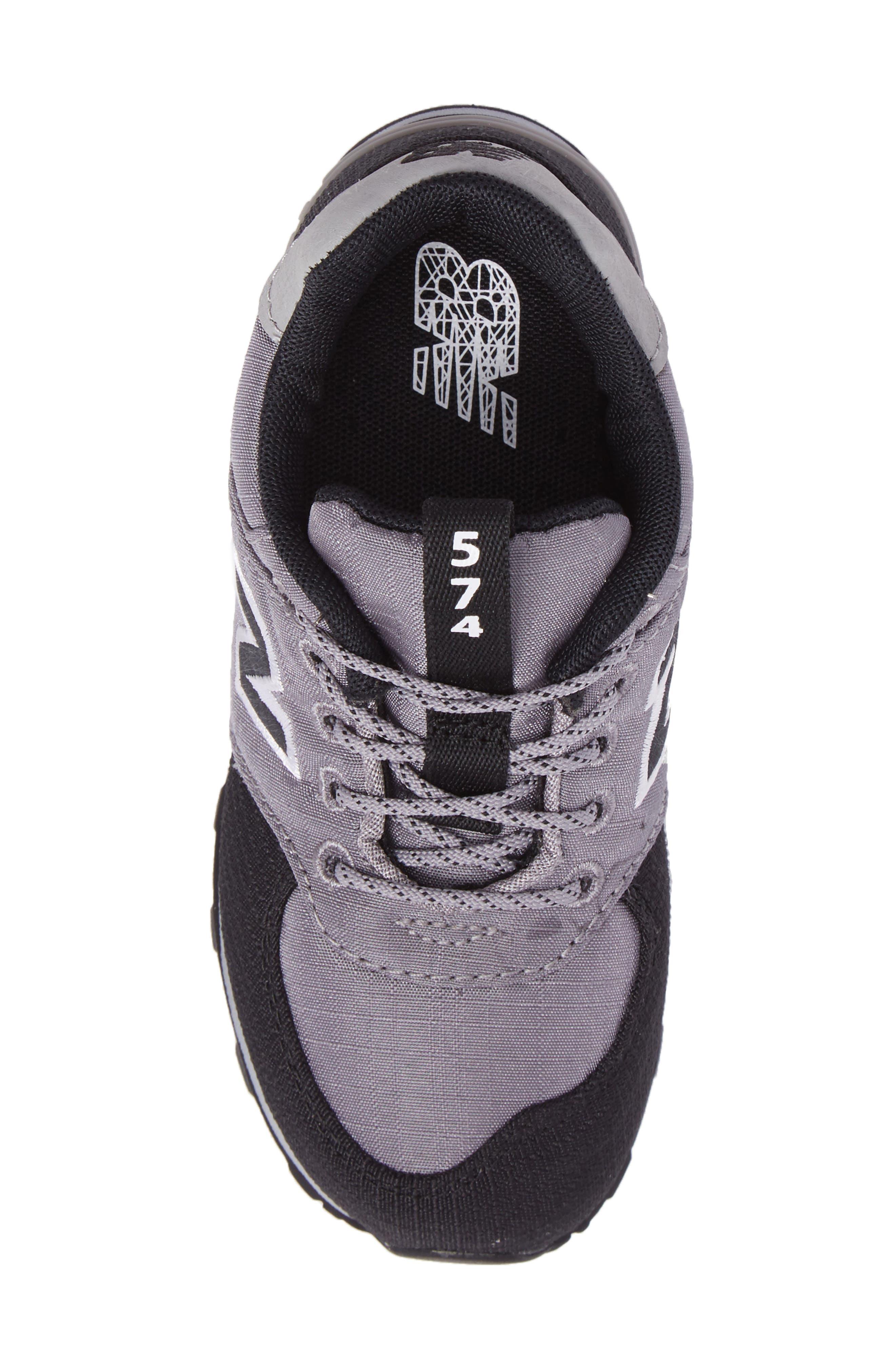 574 Sneaker,                             Alternate thumbnail 5, color,                             Grey