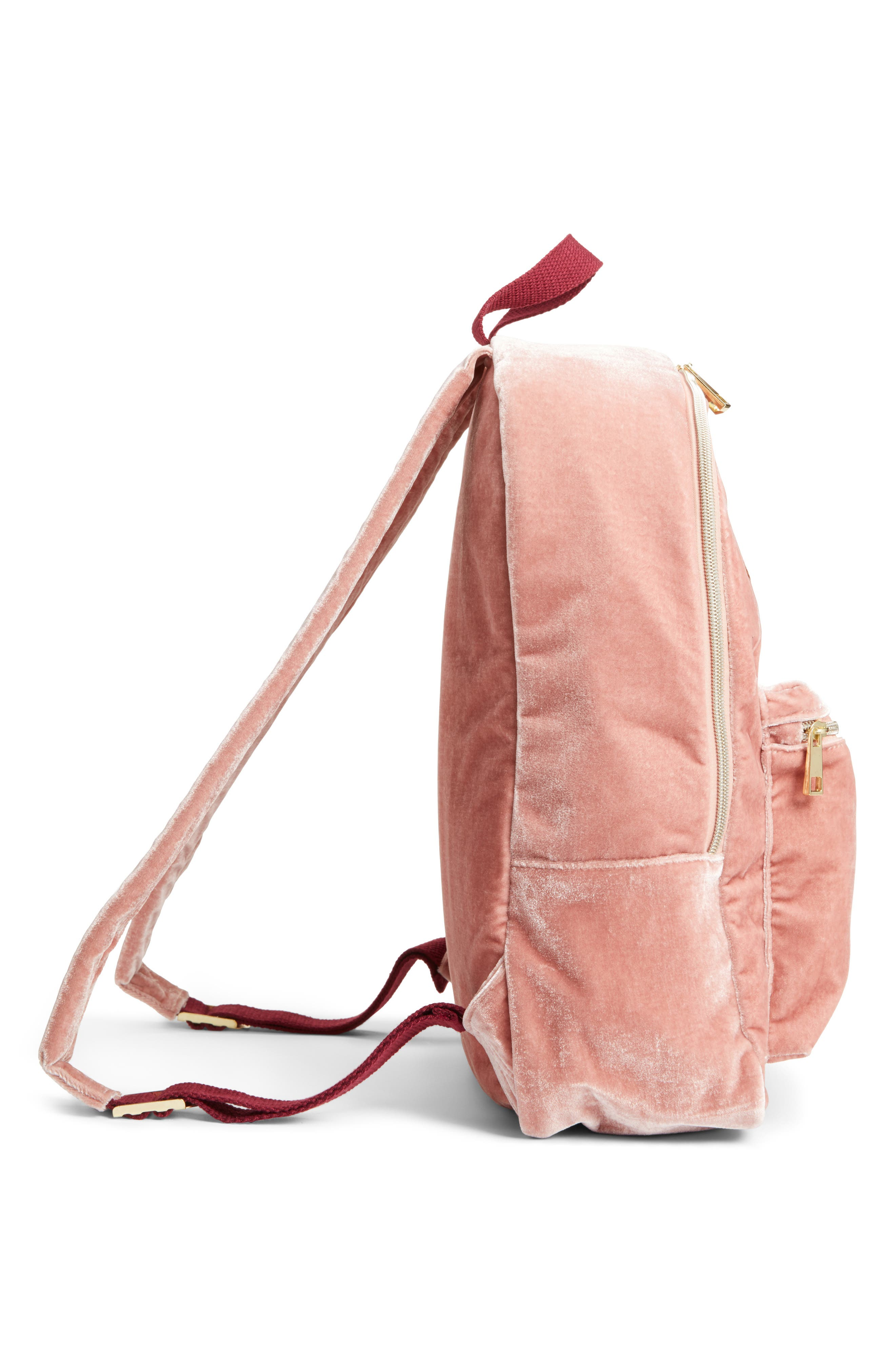 Trouble Maker Backpack,                             Alternate thumbnail 4, color,                             Blush