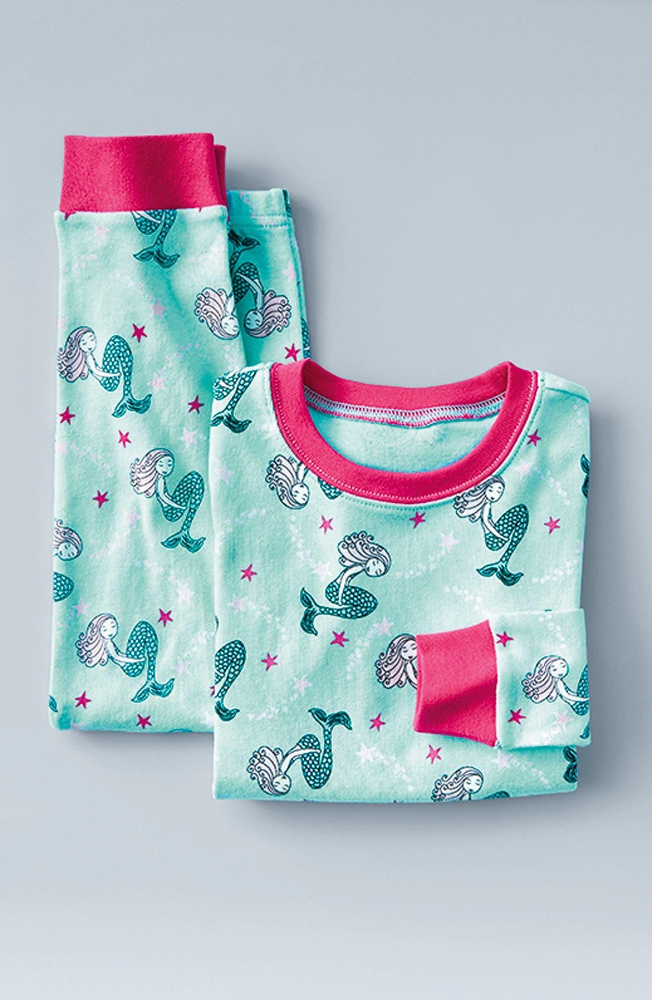 Alternate Image 3  - Tucker + Tate Fitted Two-Piece Pajamas (Toddler Girls, Little Girls & Big Girls)