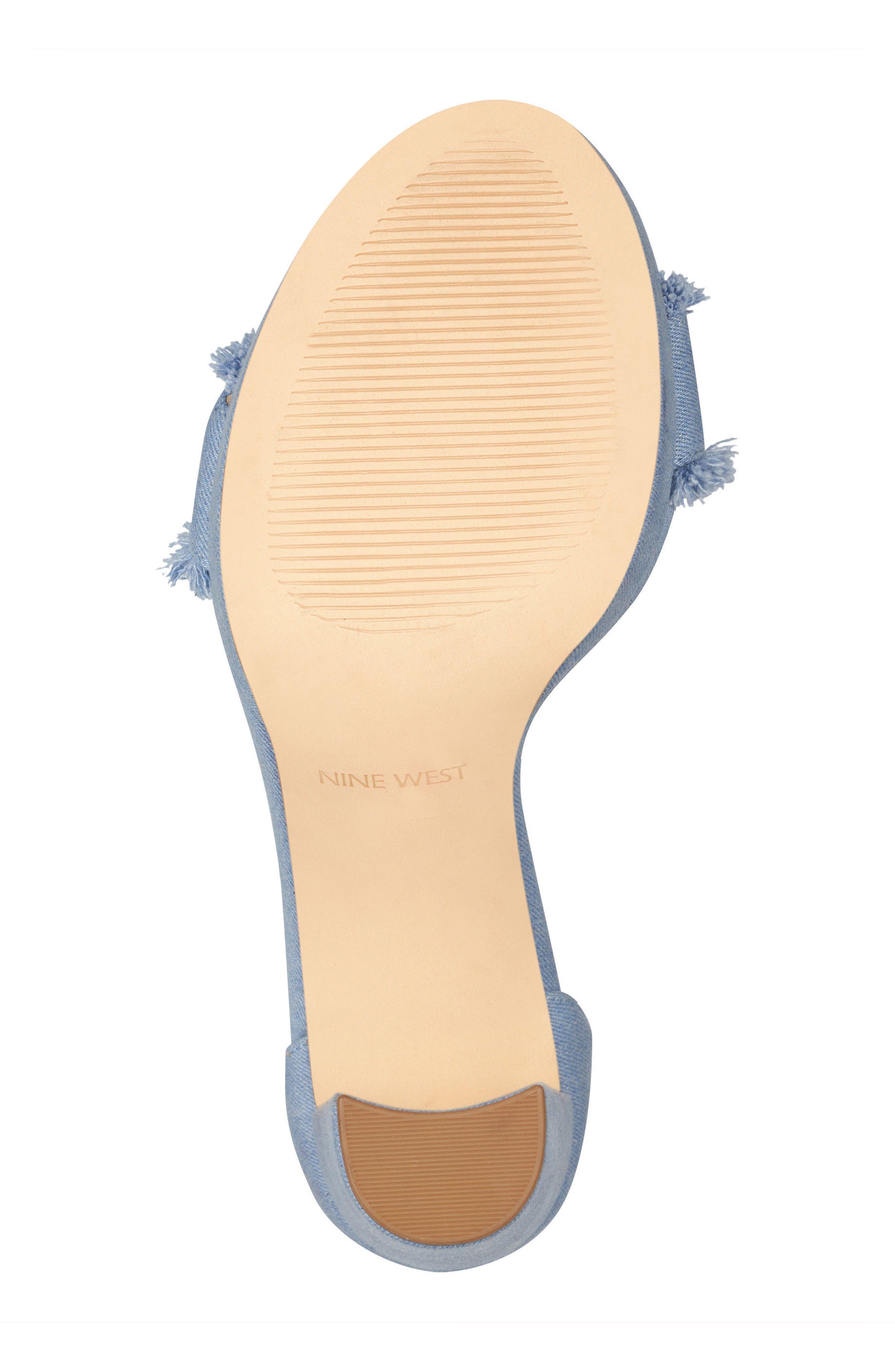 Alternate Image 6  - Nine West Daranita Ankle Strap Sandal (Women)