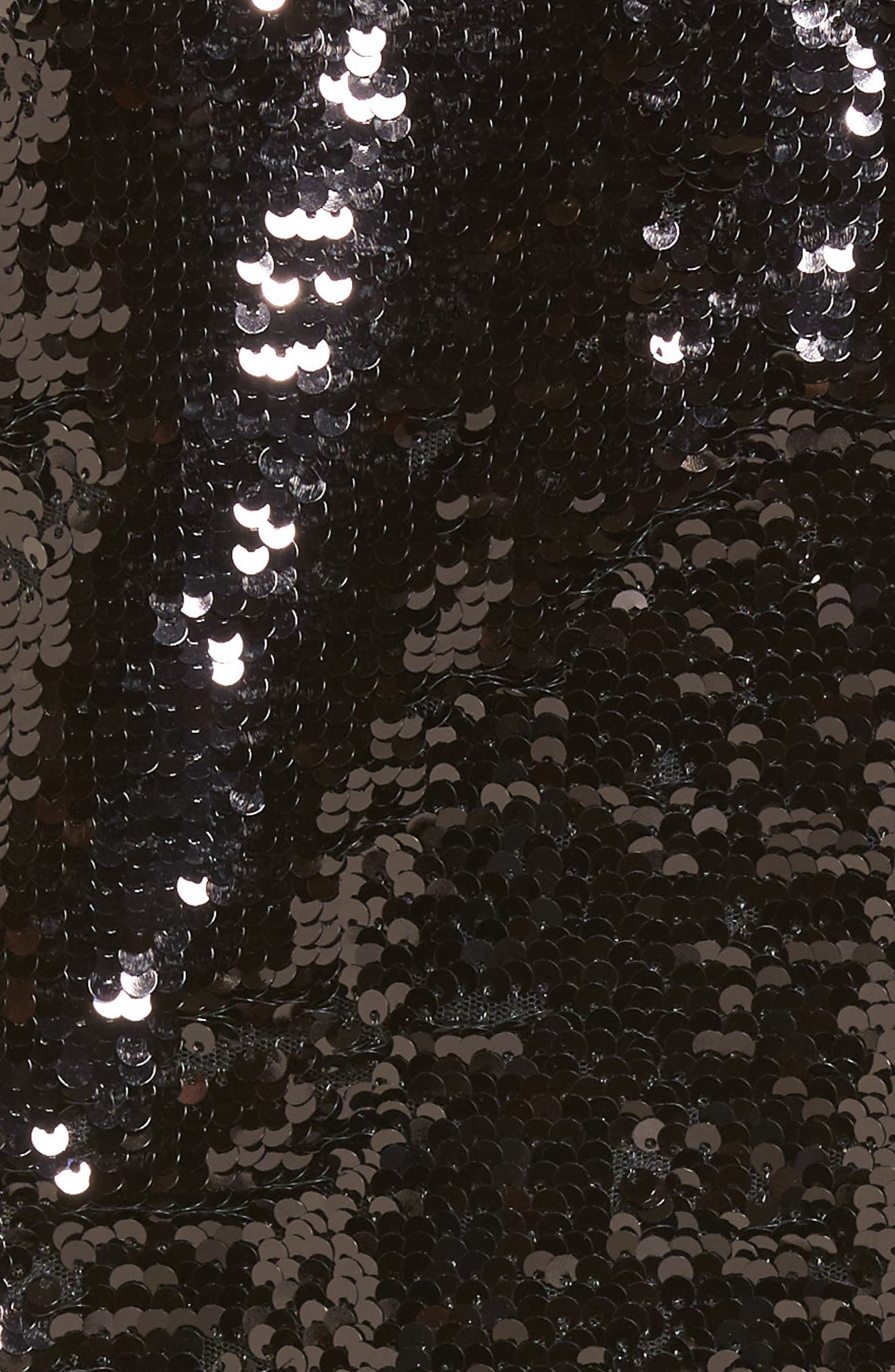 Bigby Sequin Slipdress,                             Alternate thumbnail 5, color,                             Black