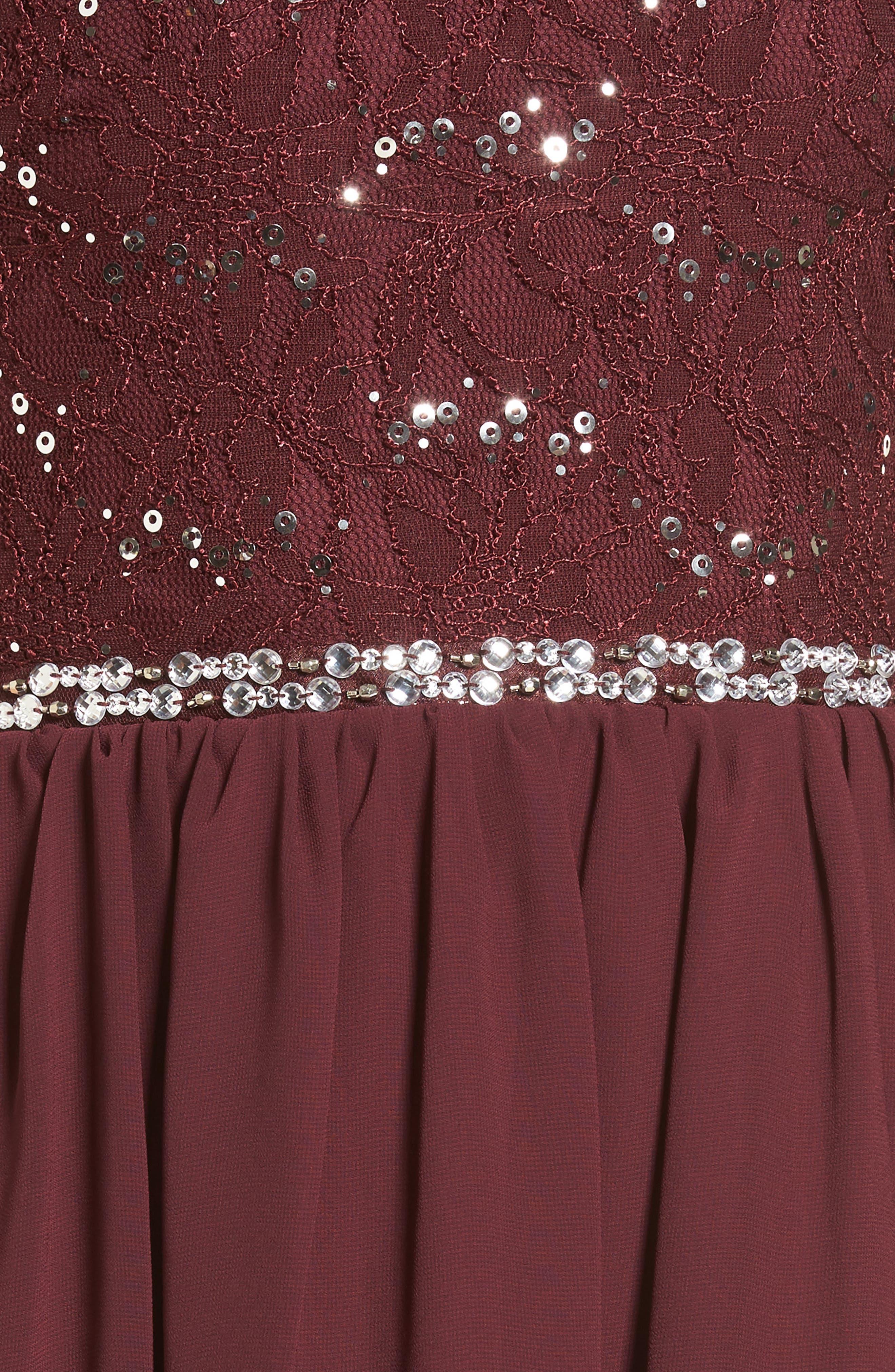 Alternate Image 5  - Speechless Jeweled Belt Dress